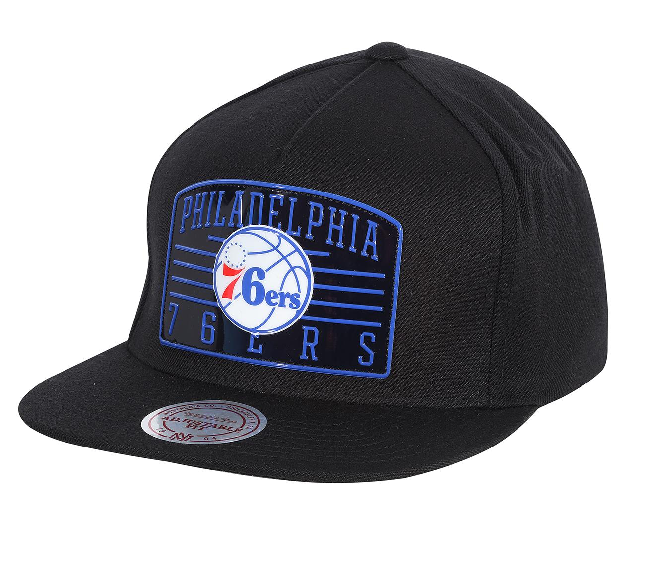 16c17ff7150 NBA Weald Patch Snapback Philadelphia 76ers