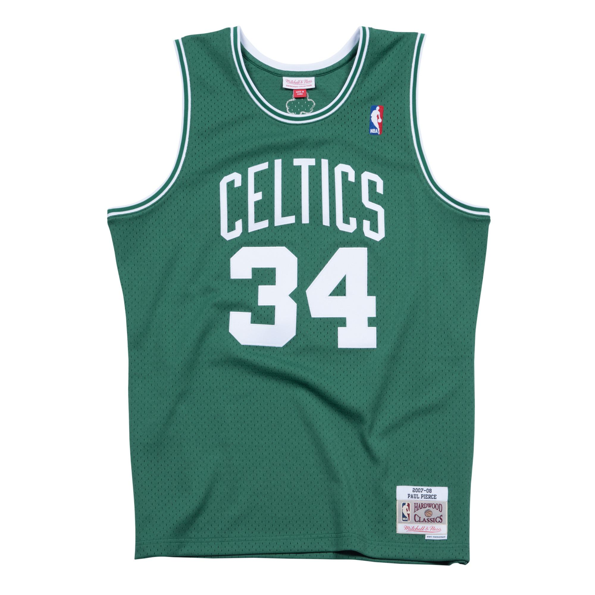 separation shoes a0625 d7b21 Mitchell & Ness | Paul Pierce Boston Celtics 2007-08 Road ...