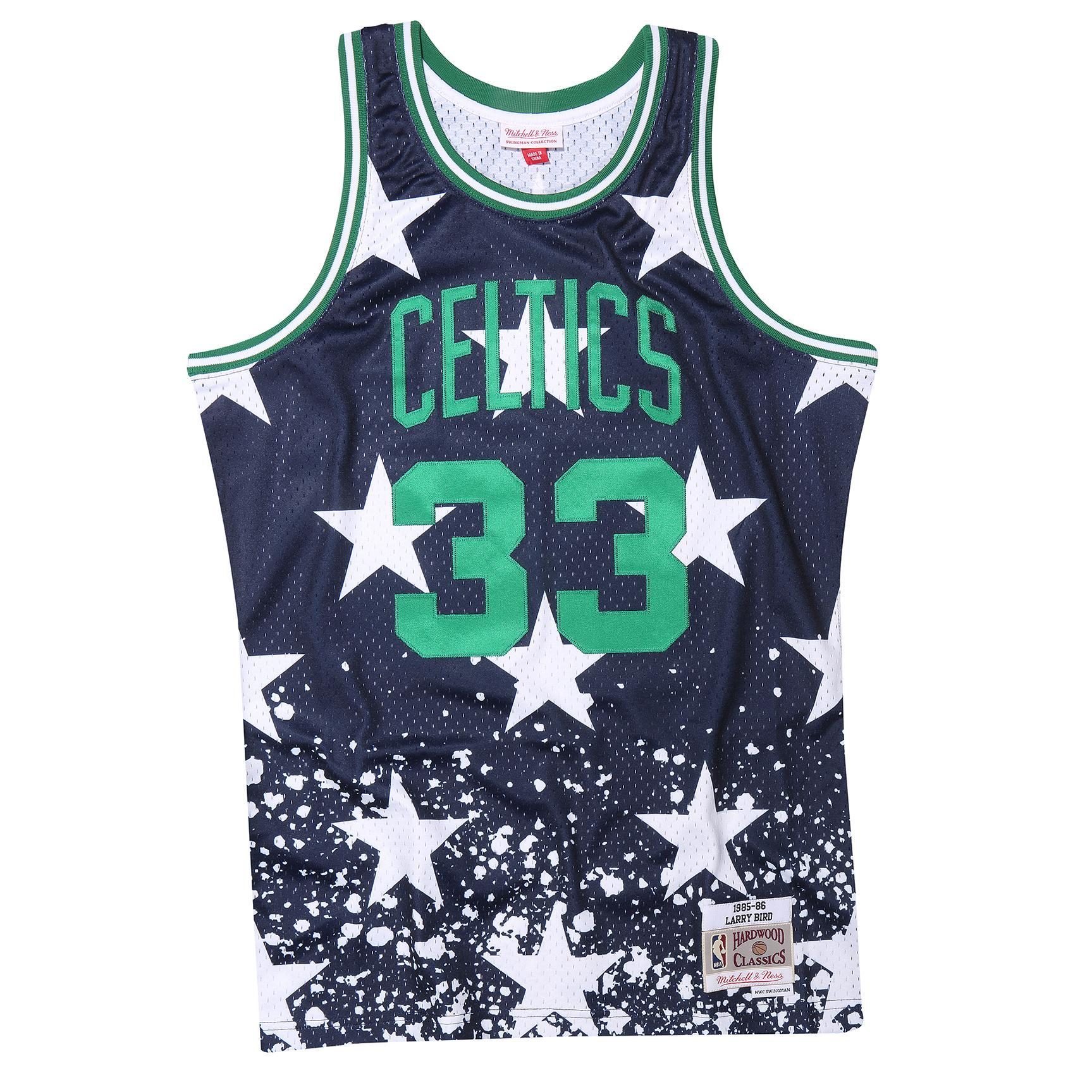 6e33a55aa Larry Bird 1985-86 4th July Swingman Jersey Boston Celtics