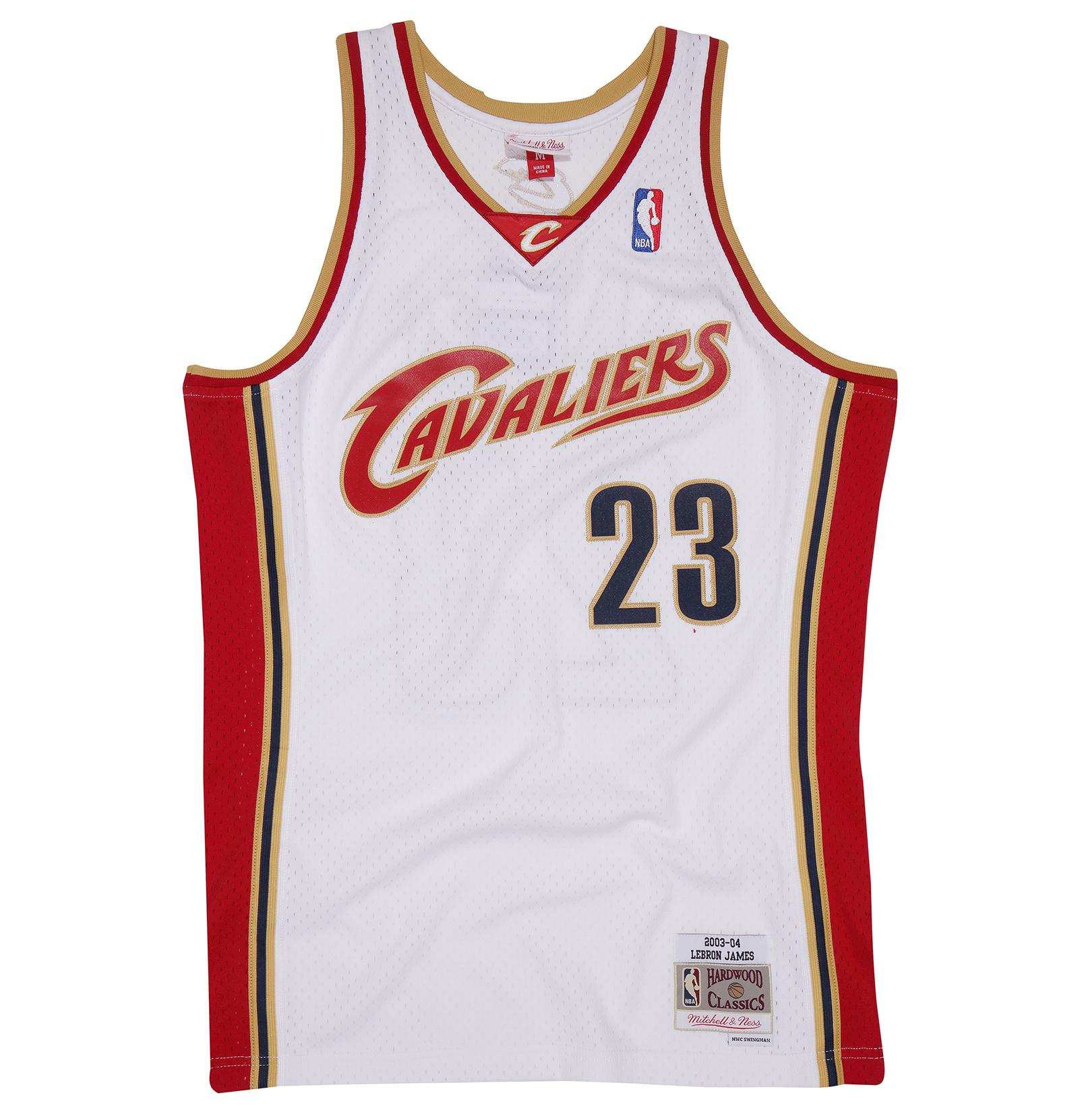new concept 4ad0c 39c51 Mitchell & Ness | Lebron James Cleveland Cavaliers 2003-04 ...