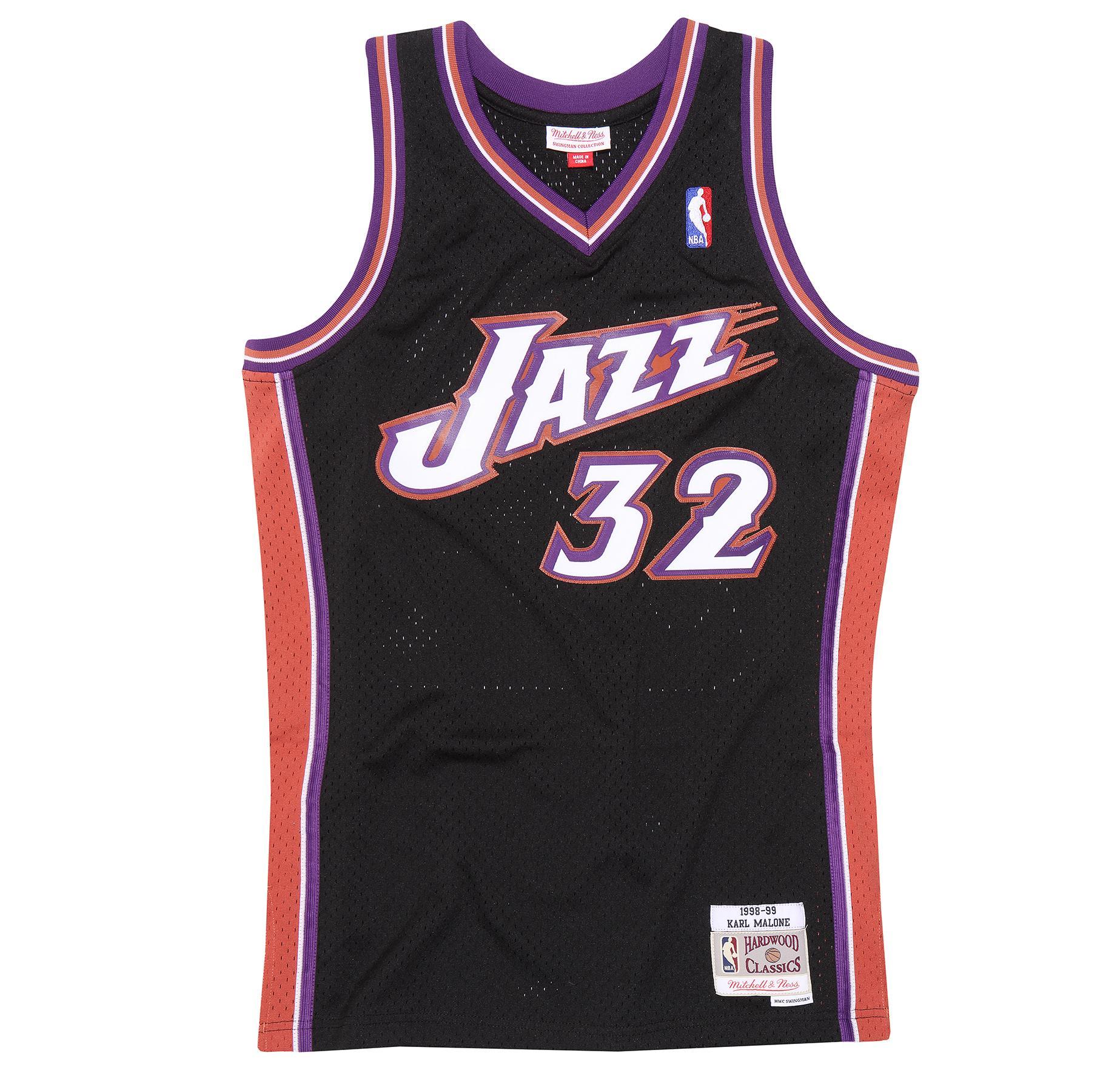 e8829a47f Karl Malone 1998-99 Swingman Jersey Utah Jazz