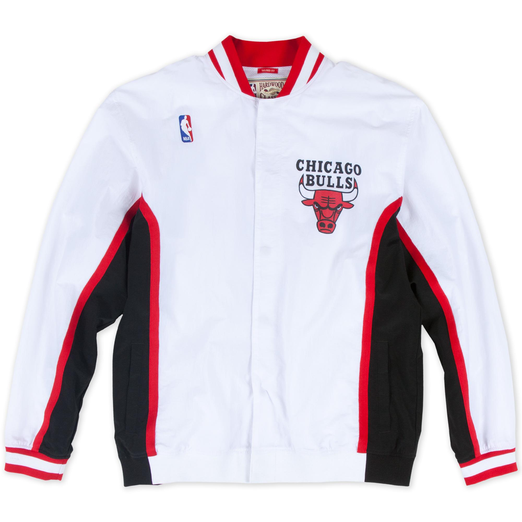 18a87ecb629 1992-93 Authentic Warm Up Jacket Chicago Bulls