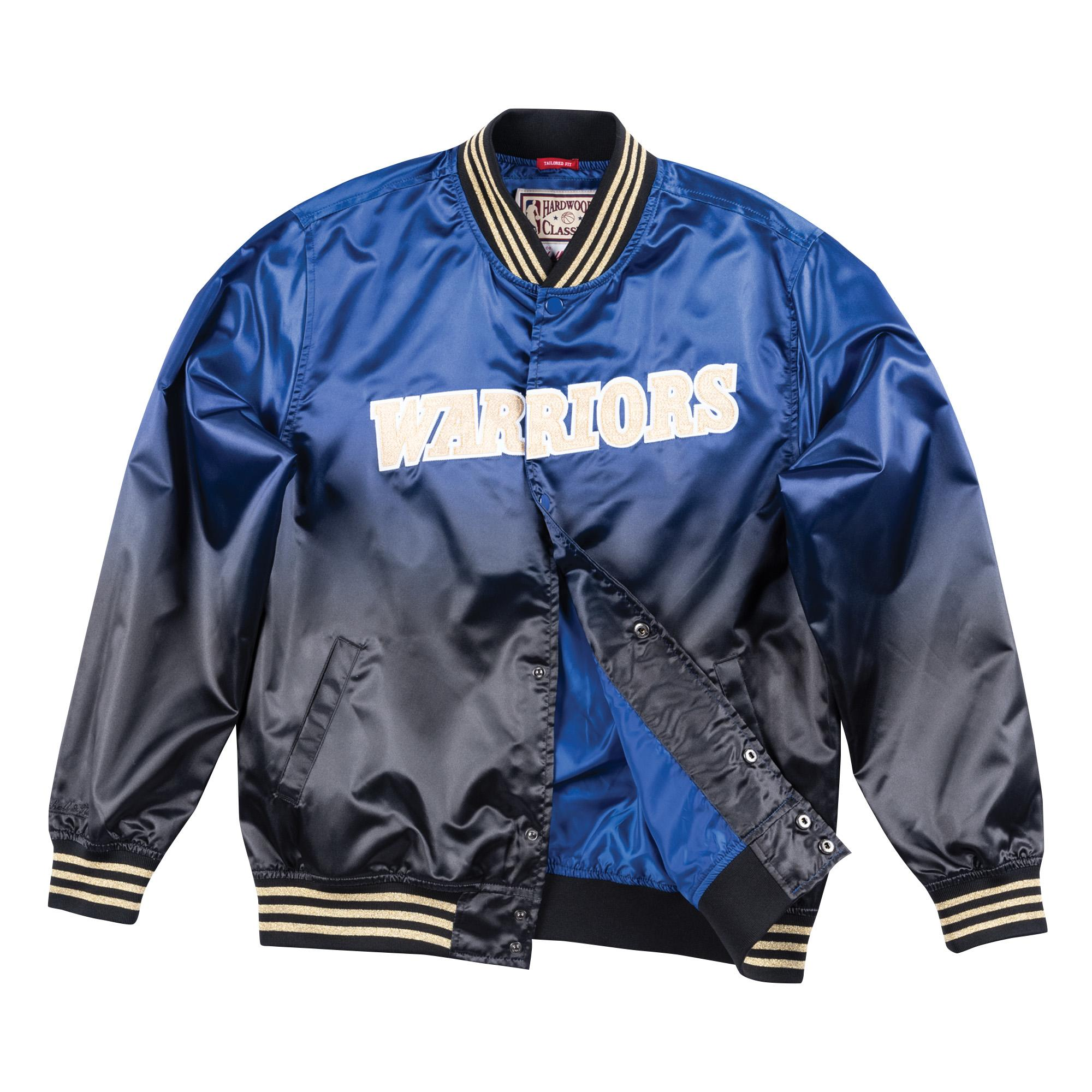 new arrival 4430a 2e546 Mitchell & Ness | Chinese New Year Satin Jacket Golden State ...