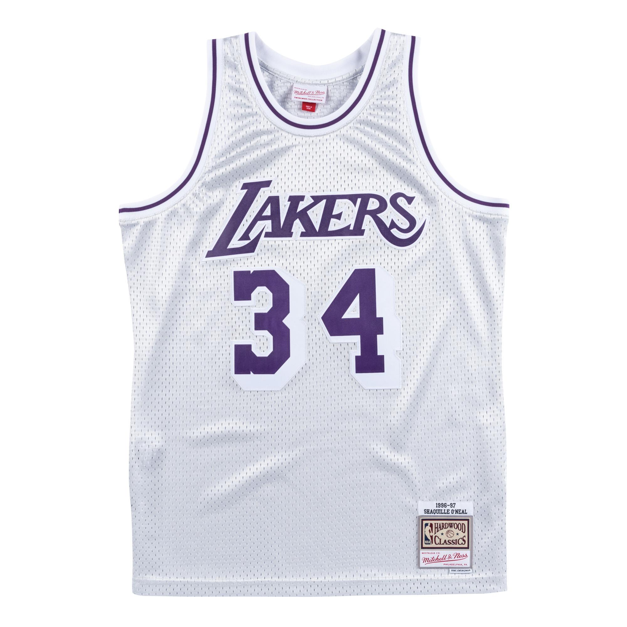 reputable site 1393f 3189d Mitchell & Ness | LA Lakers Platinum Swingman Jersey ...