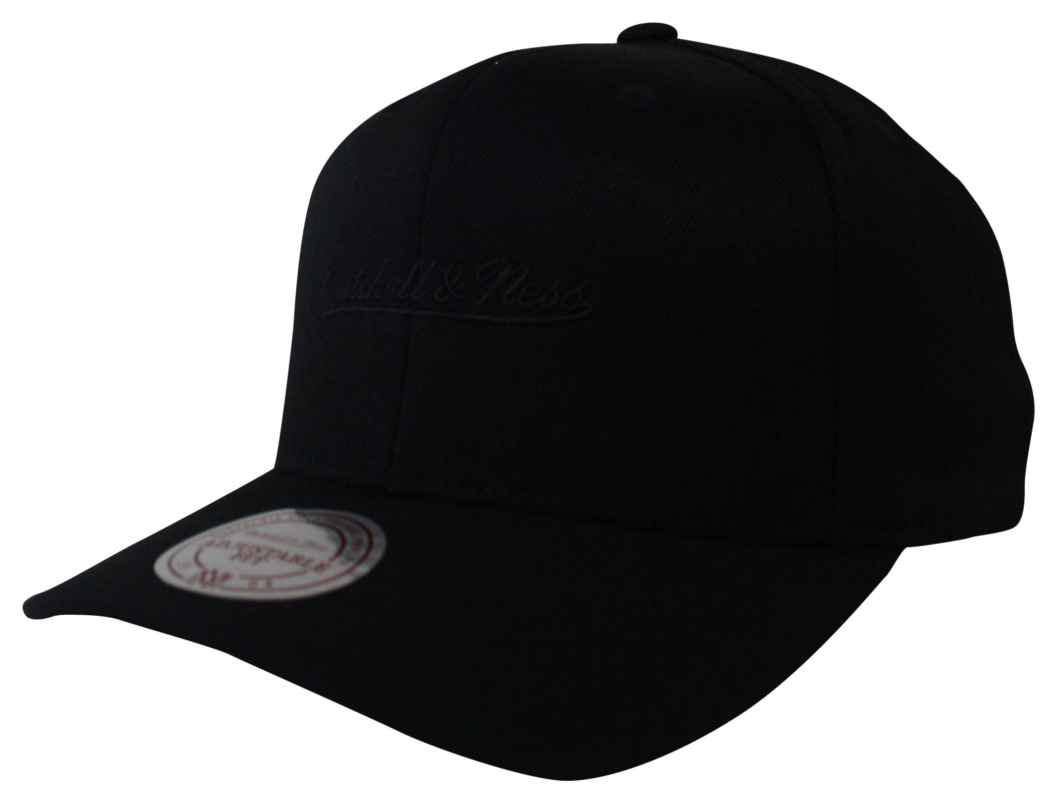 mitchell ness mitchell and ness black 110 snapback. Black Bedroom Furniture Sets. Home Design Ideas
