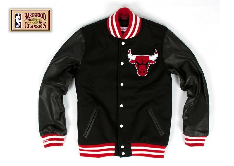 Chicago bulls leather jackets