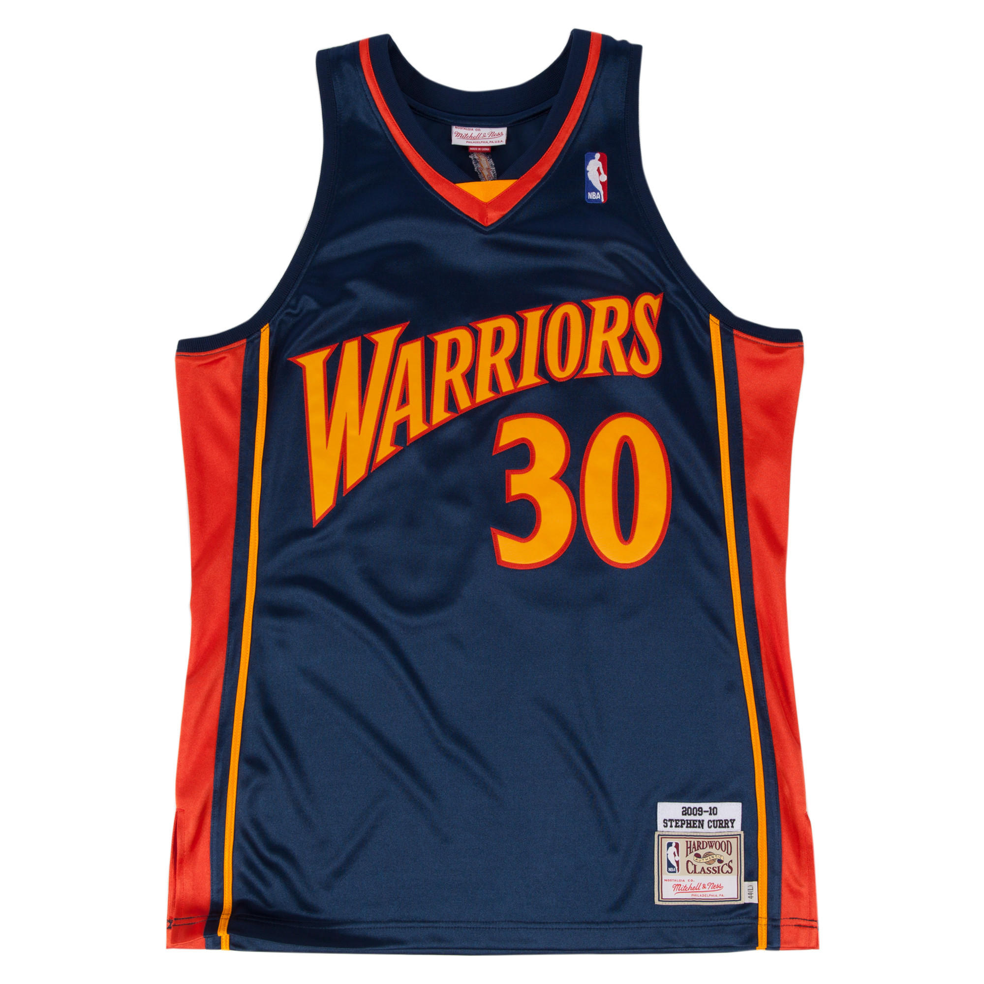 d061fcde317 Stephen Curry 2009-10 Authentic Jersey Golden State Warriors ...