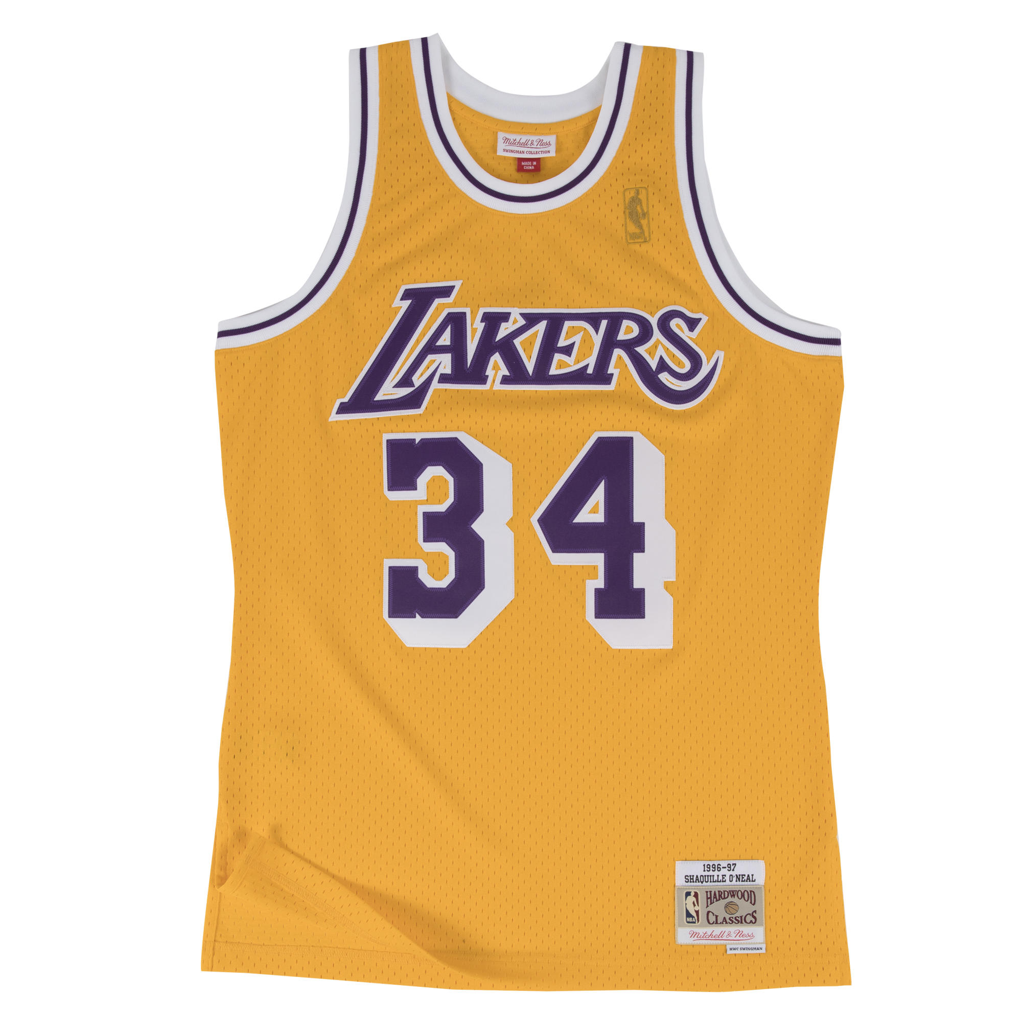 competitive price 29faf dfdbf Mitchell & Ness | Shaquille O'Neal 1996-97 Los Angeles ...