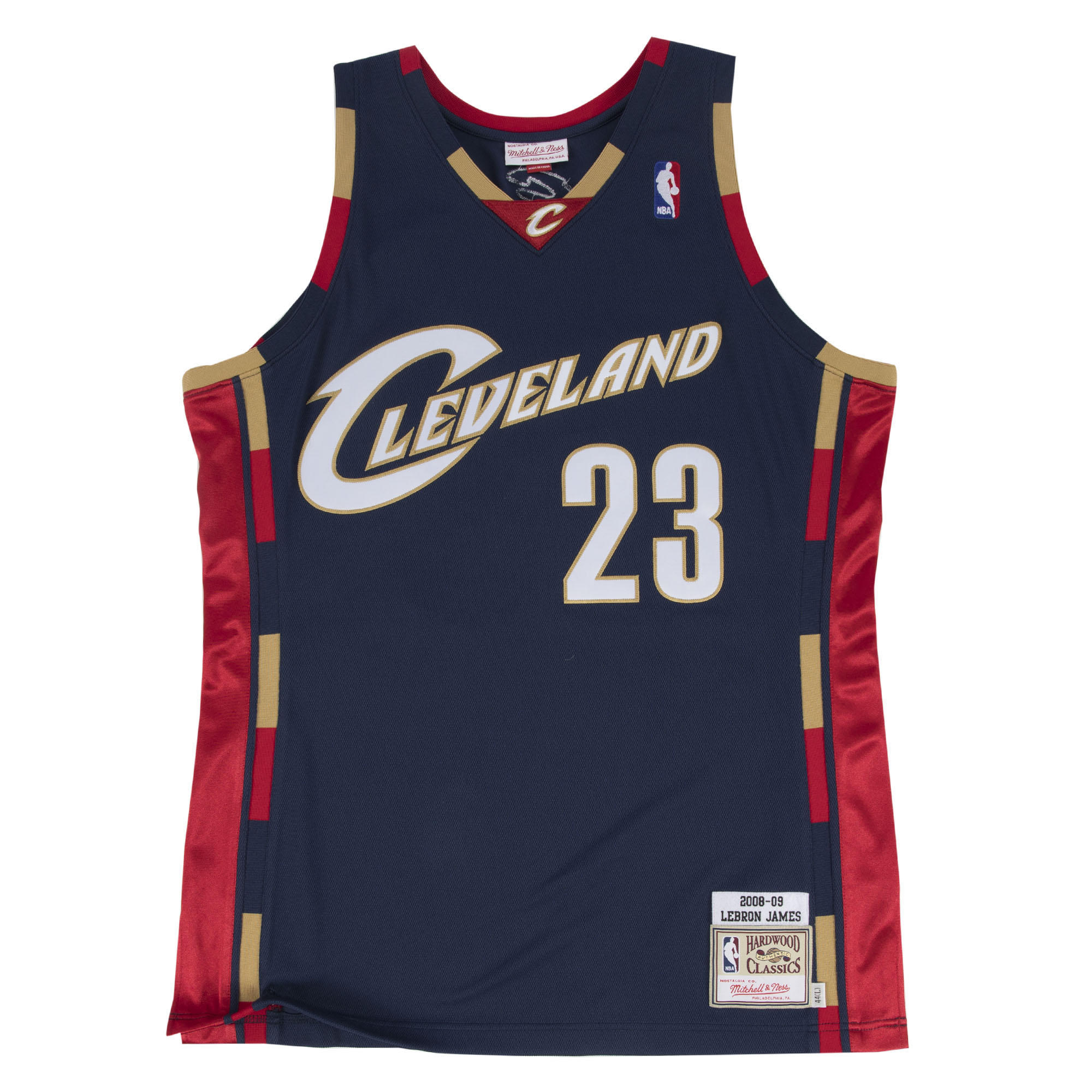 premium selection 1e568 af6af Mitchell & Ness Nostalgia Co. | LeBron James 2008-09 ...