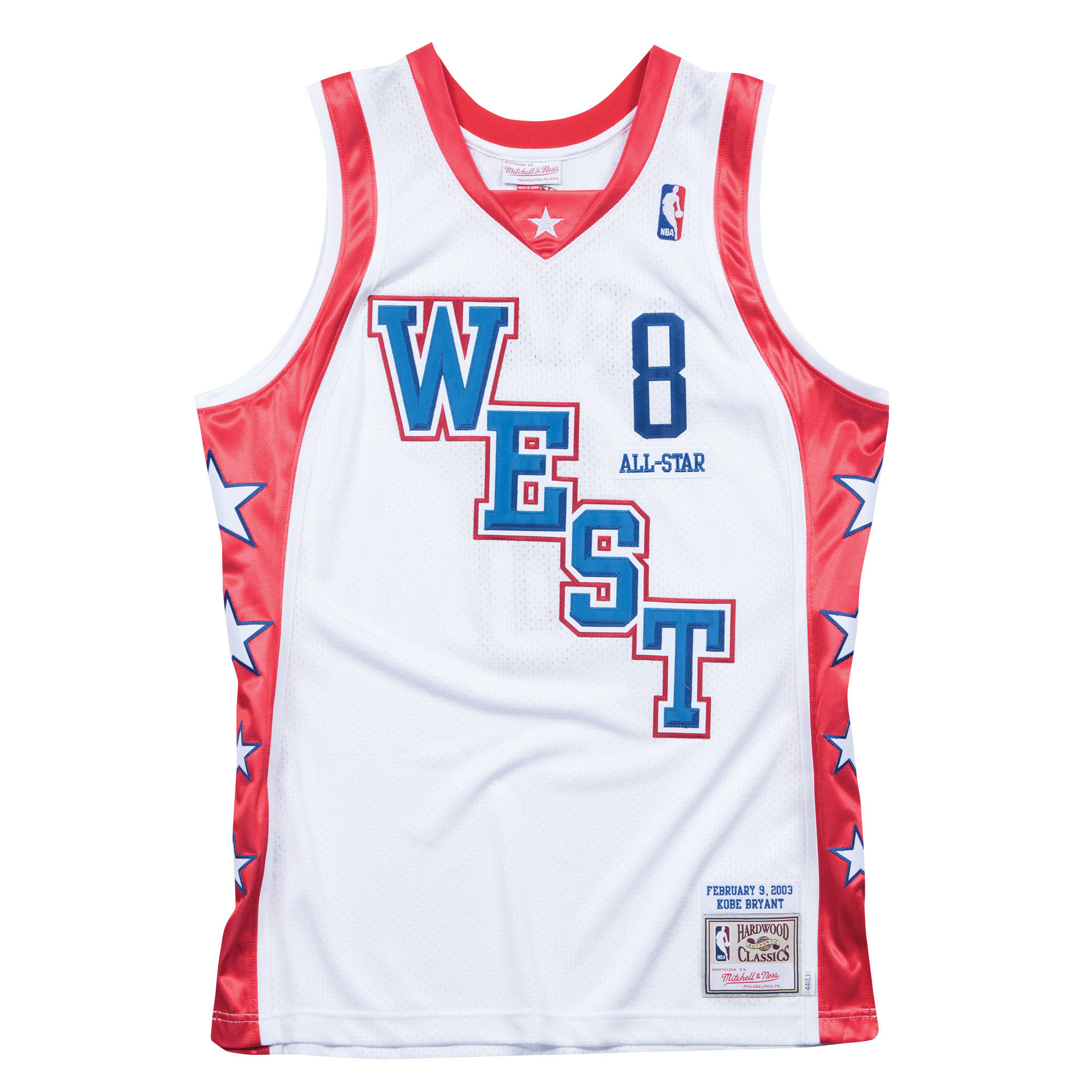 65c1d27d0 Kobe Bryant 2004 West Authentic Jersey NBA All-Star