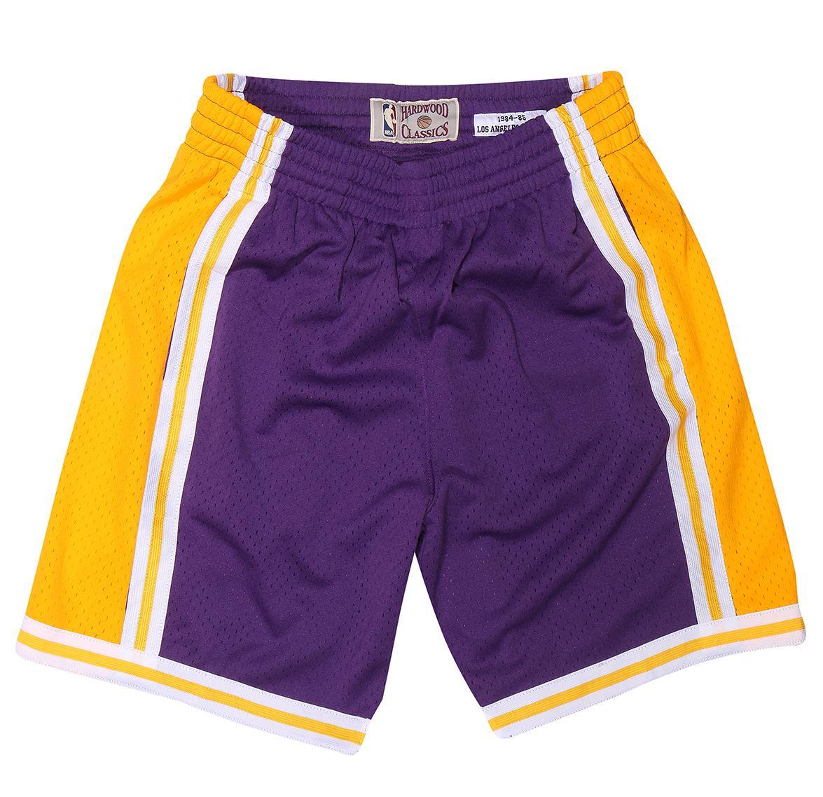 2dee028a65d3 1984-85 Road Swingman Shorts LA Lakers