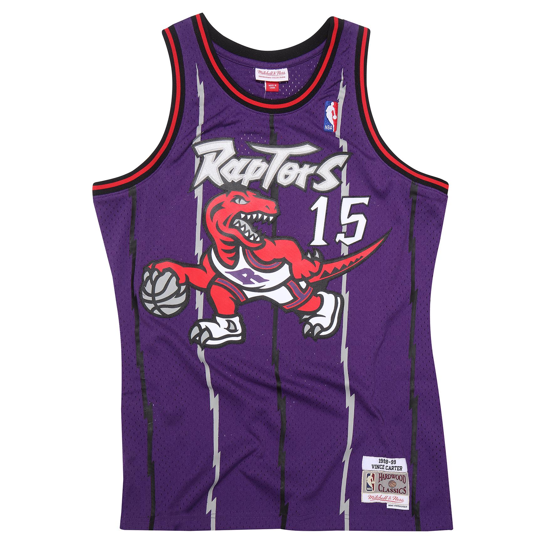 best service c00e4 5afab Mitchell & Ness | Vince Carter 1998-99 Toronto Raptors ...