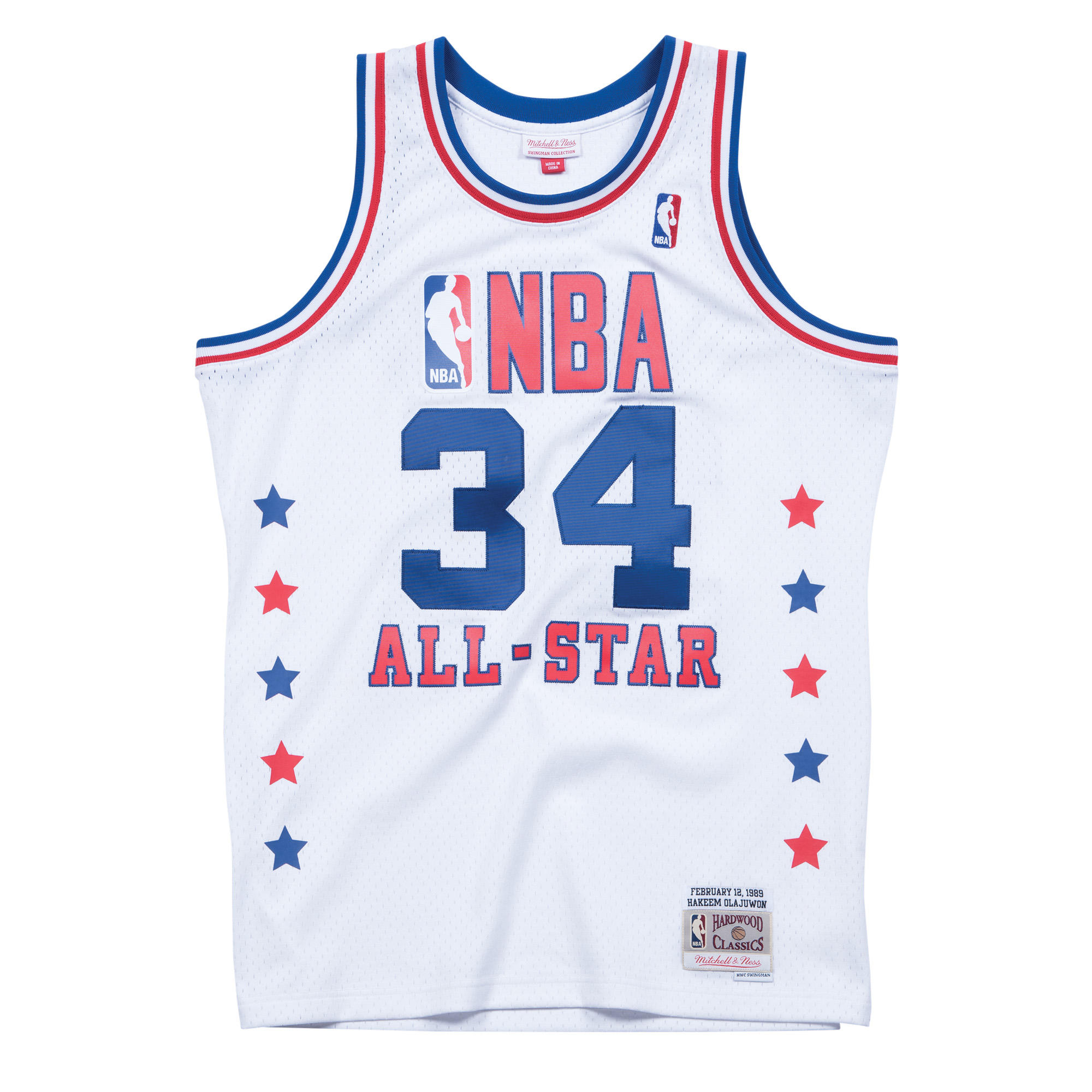 uk availability e455b d6077 Mitchell & Ness Nostalgia Co. | NBA All-Star Hakeem Olajuwon ...