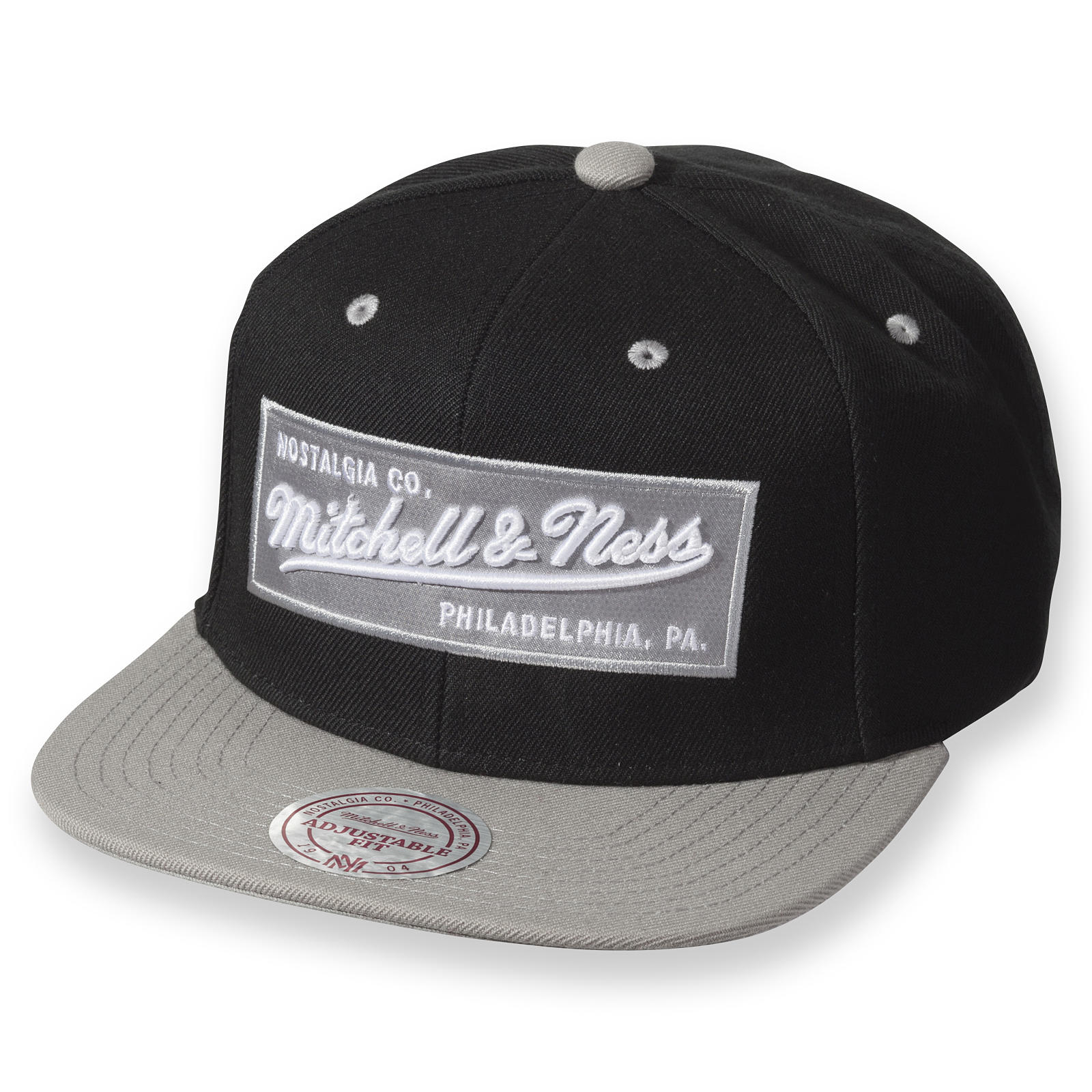 382948b78dc M N Box Logo Snapback Mitchell   Ness