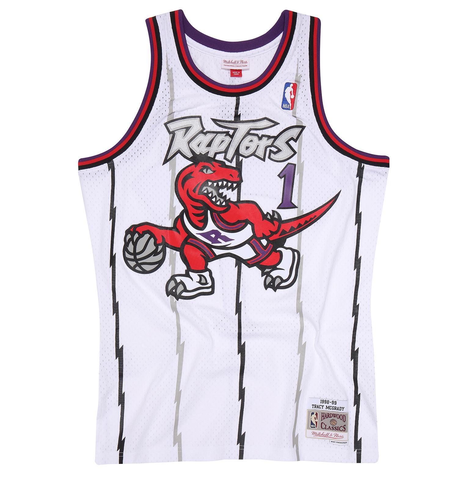 Tracy McGrady 1998-99 Home Swingman Jersey Toronto Raptors d4f642b71