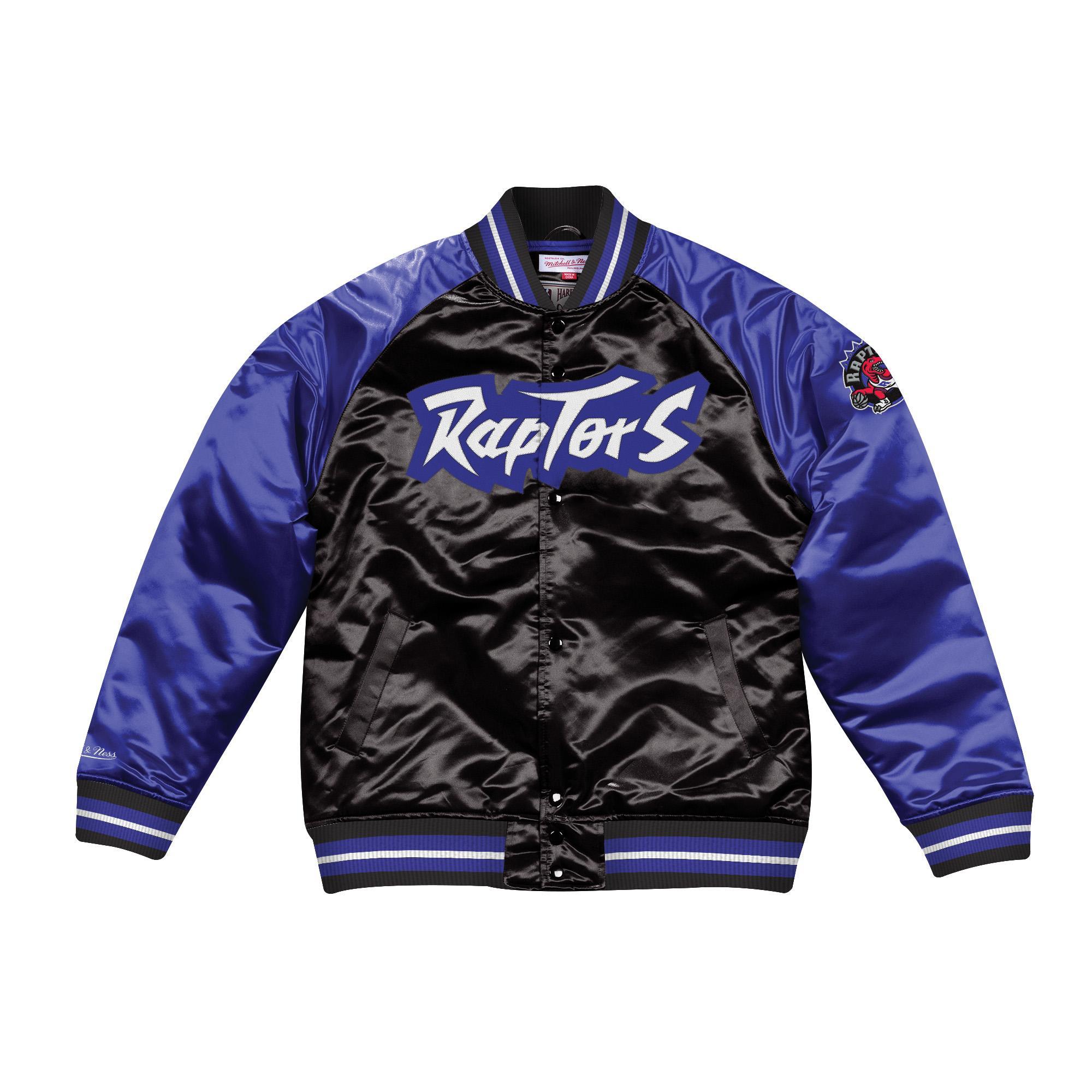 bb20812d Mitchell & Ness | Toronto Raptors Tough Season Satin Jacket