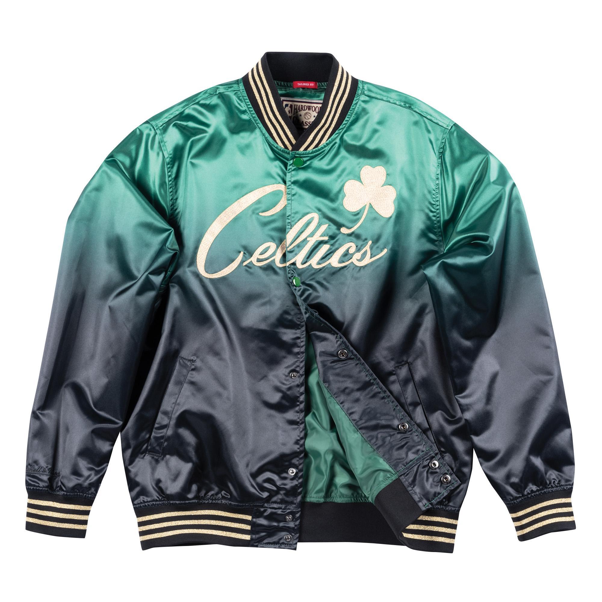 a0ffab87b73 Mitchell & Ness   Chinese New Year Satin Jacket Boston Celtics