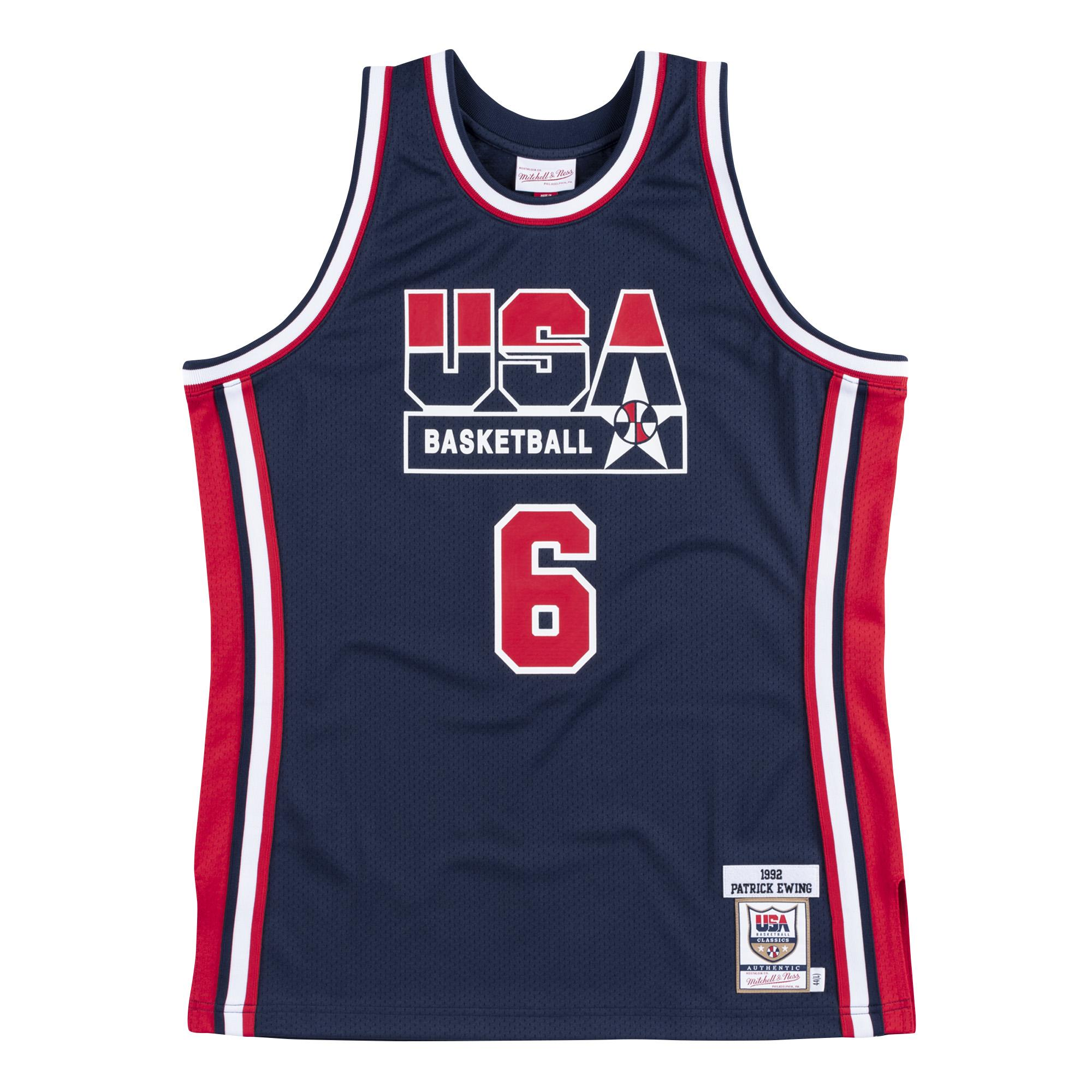 buy online b6479 de392 Mitchell & Ness | Team USA 1992 Authentic Jersey Patrick Ewing