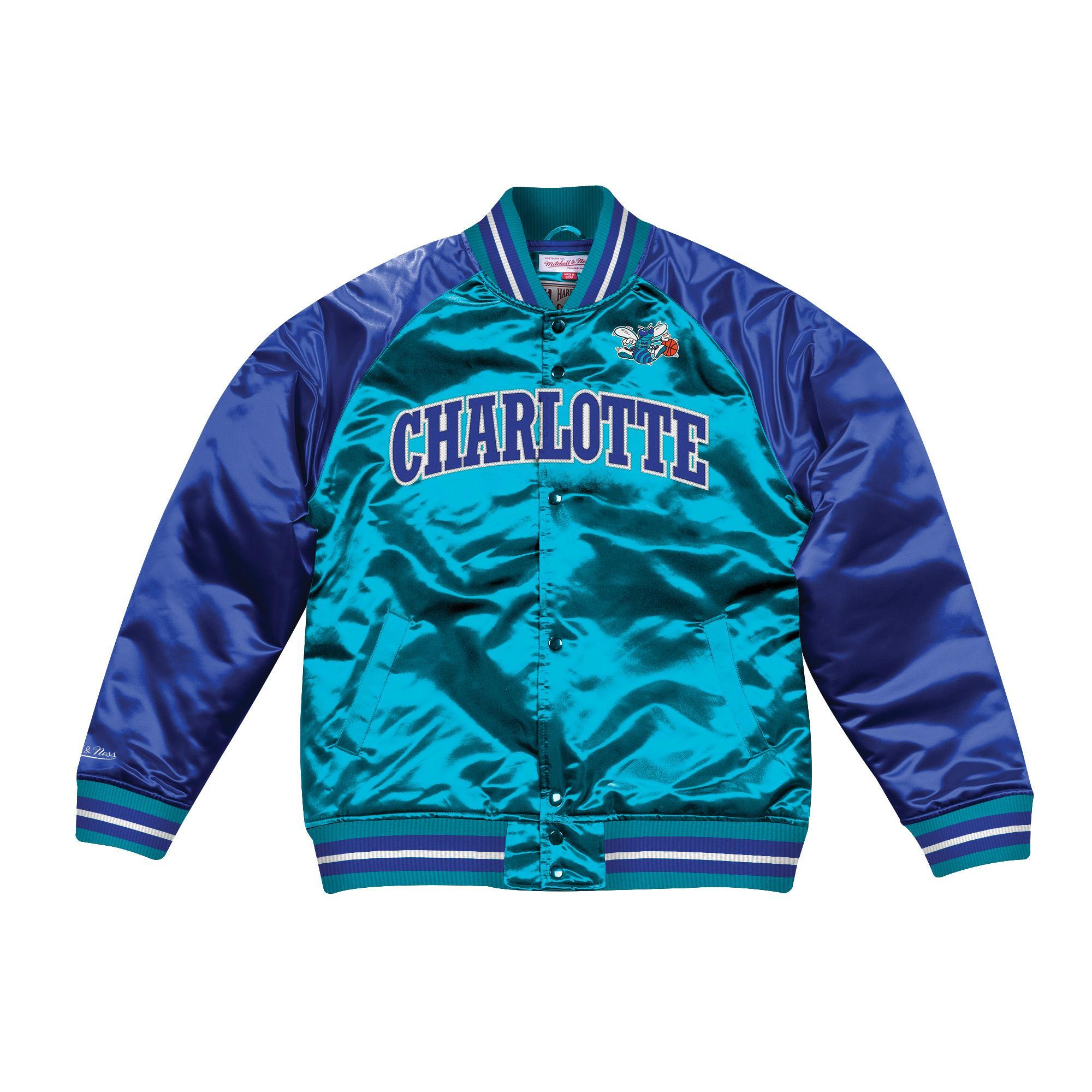 23c093bad60 Tough Season Satin Jacket Charlotte Hornets