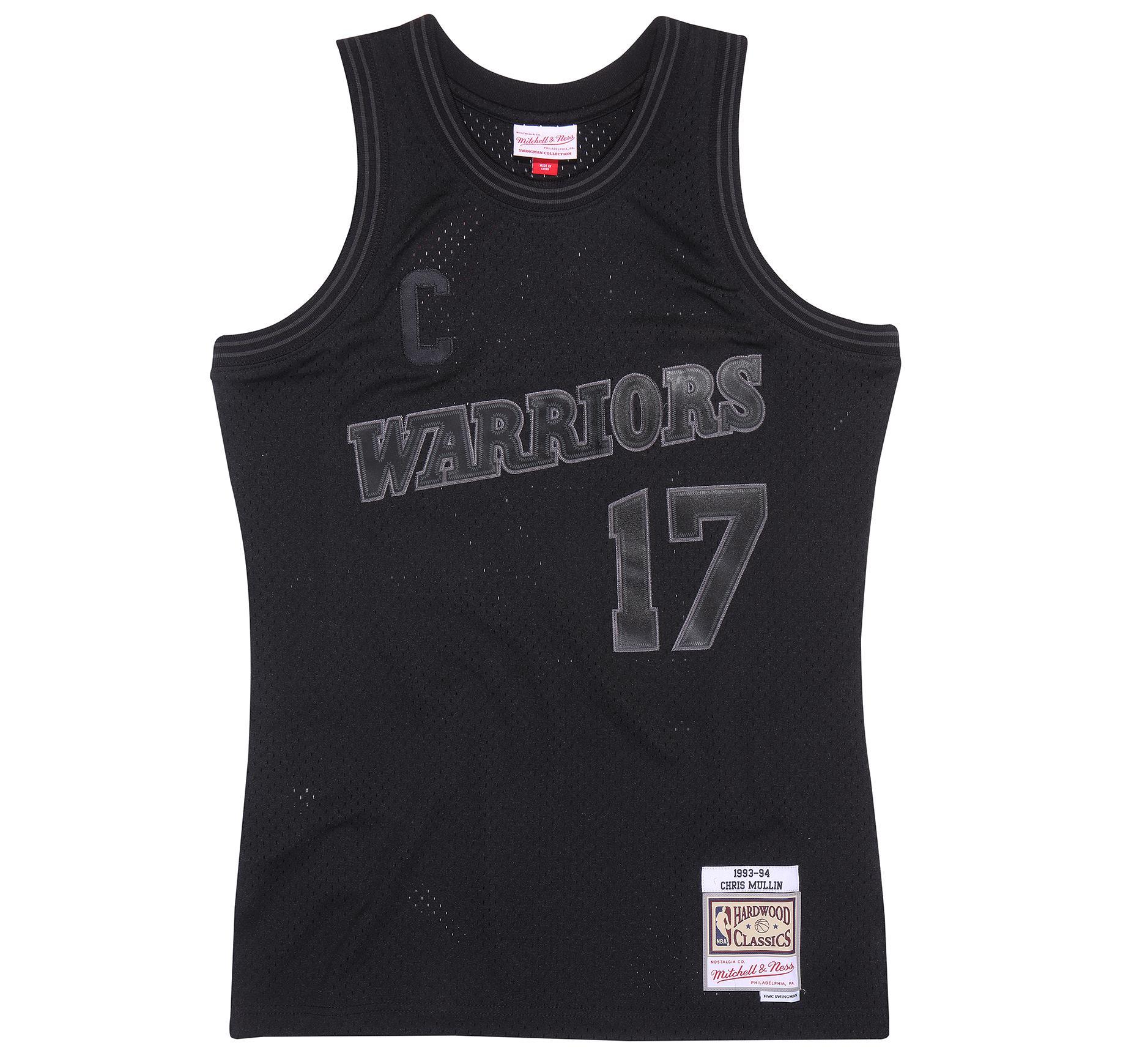 c751be4c2 Back to Black Chris Mullin Swingman Jersey Golden State Warriors