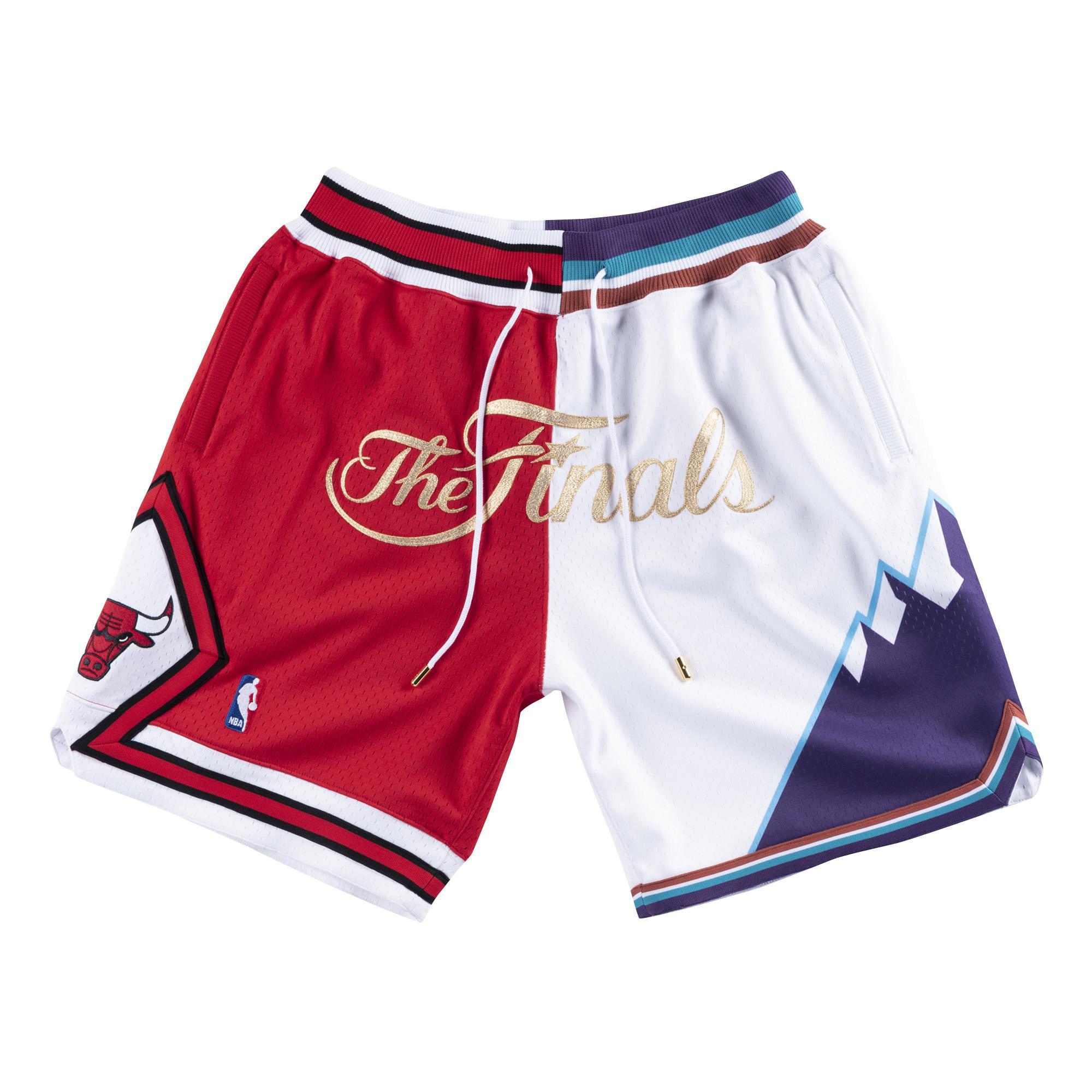 timeless design d9af8 7cf44 Mitchell   Ness   Just Don Split NBA Finals Shorts Bulls Jazz