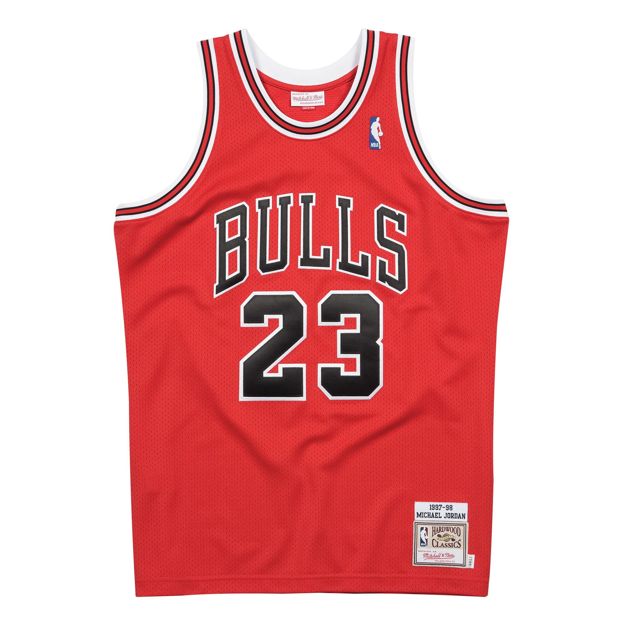 70c555a24e4 Michael Jordan 1997-98 Authentic Jersey Chicago Bulls