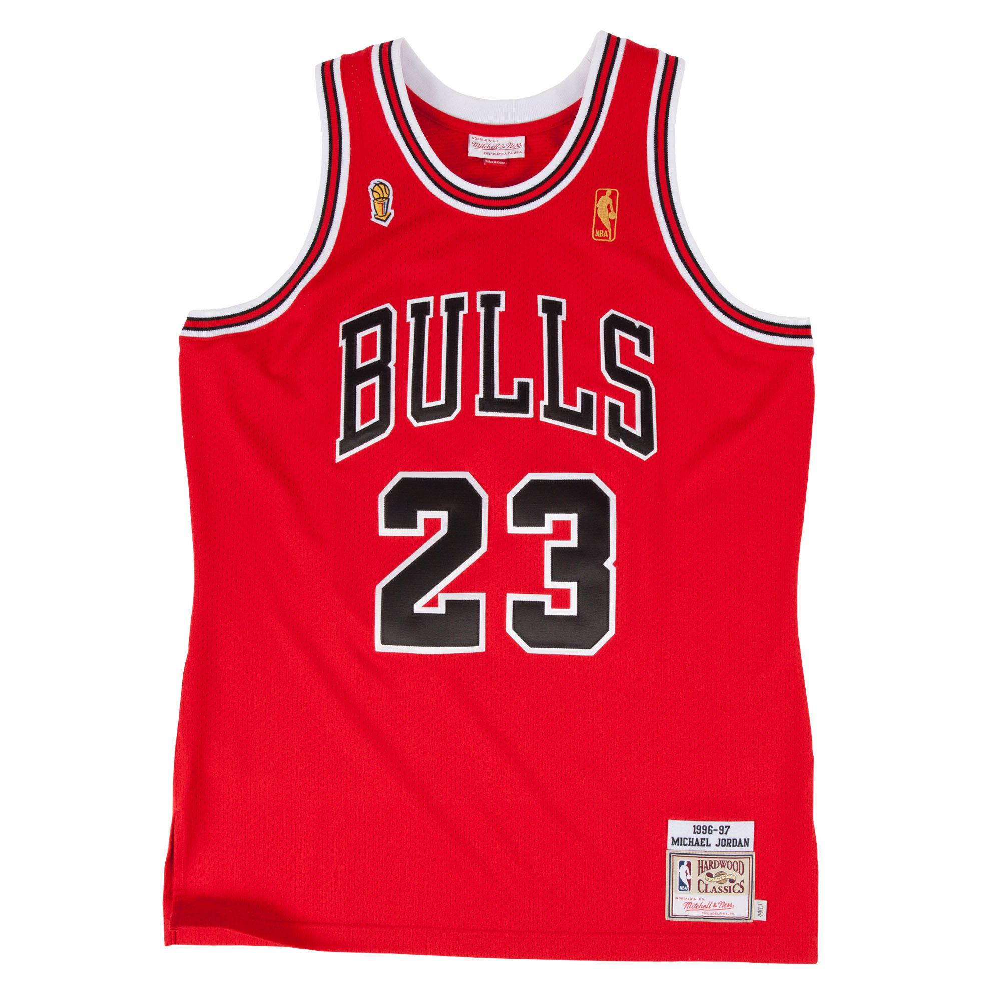 ab27dd45ce6 Michael Jordan 1996-97 Authentic Jersey Chicago Bulls