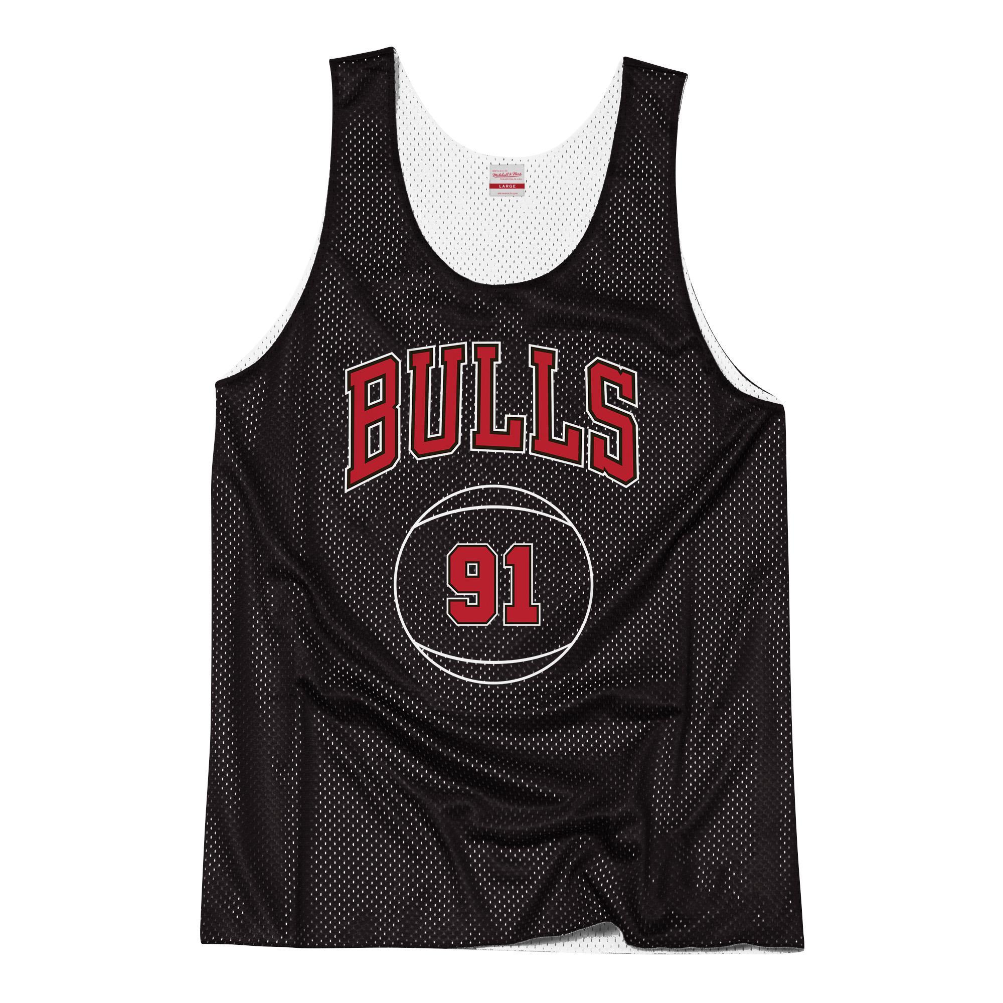 fcd4d4f7eb9 Mitchell & Ness Nostalgia Co. | Reversible Mesh Tank Top - Chicago Bulls