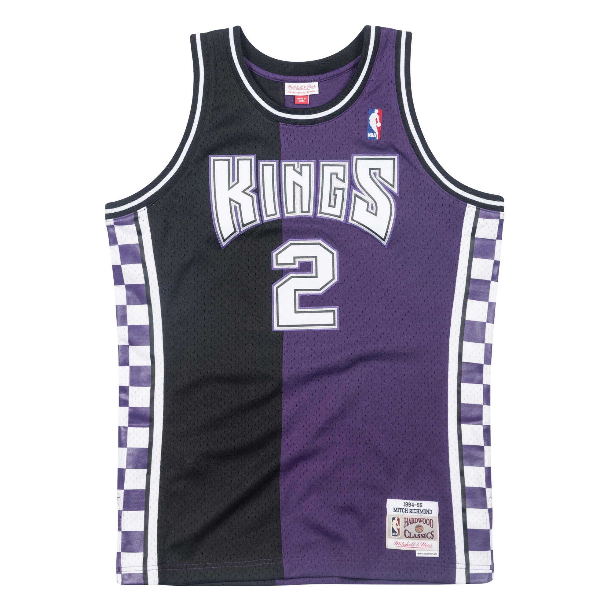 d983c311503a Mitch Richmond 1994-95 Swingman Jersey Sacramento Kings