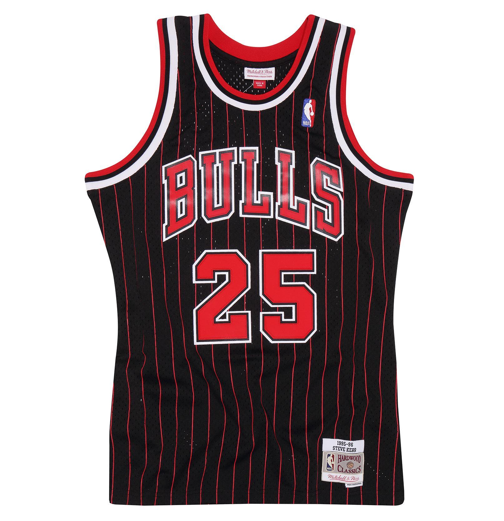508b358103c Steve Kerr 1995-96 Alternate Swingman Jersey Chicago Bulls