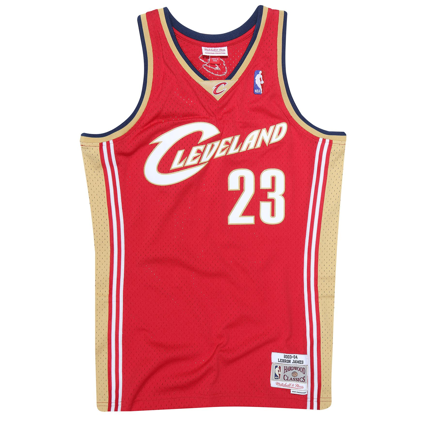 LeBron James 2003-04 Swingman Jersey Cleveland Cavaliers 4c1d0dd56