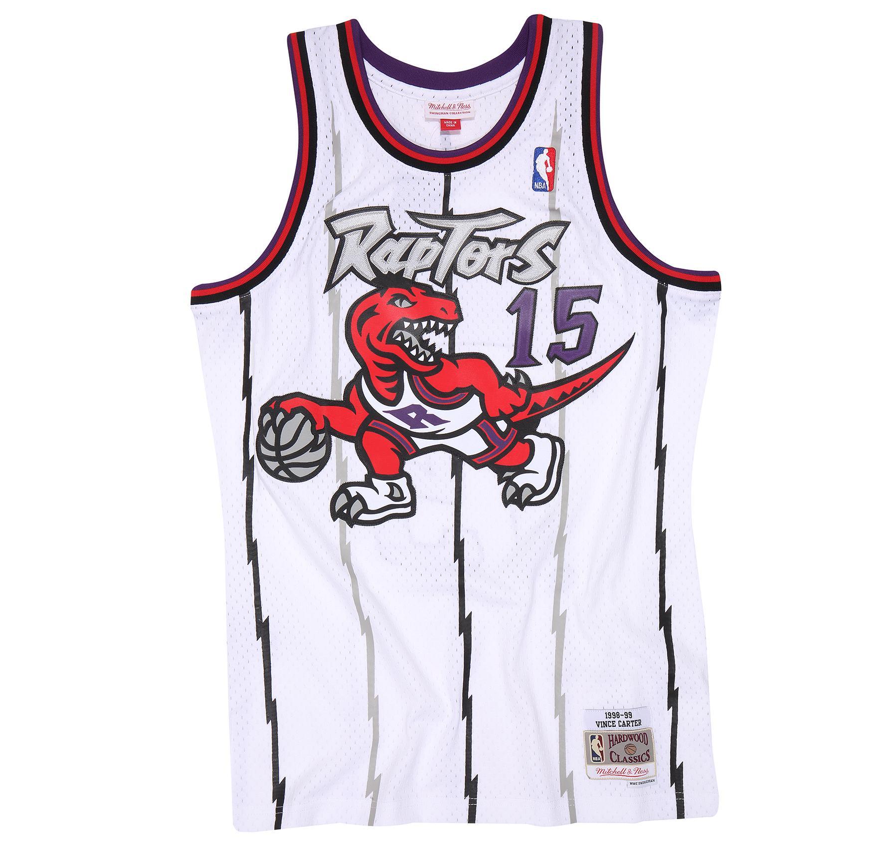 a51505f7507 Vince Carter 1998-99 Home Swingman Jersey Toronto Raptors