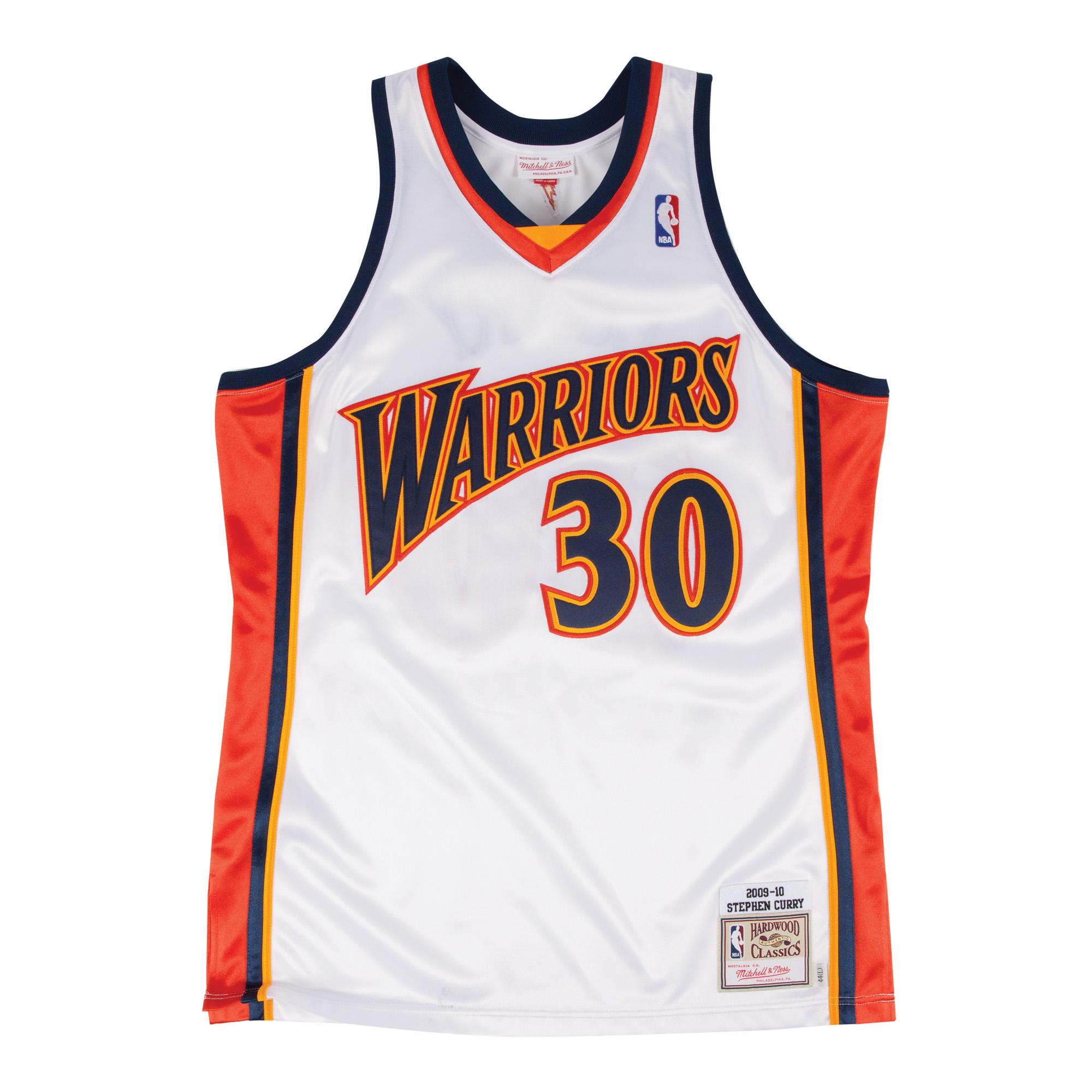 08c80b94529 Mitchell & Ness Nostalgia Co. | Stephen Curry 2009-10 Home Authentic ...