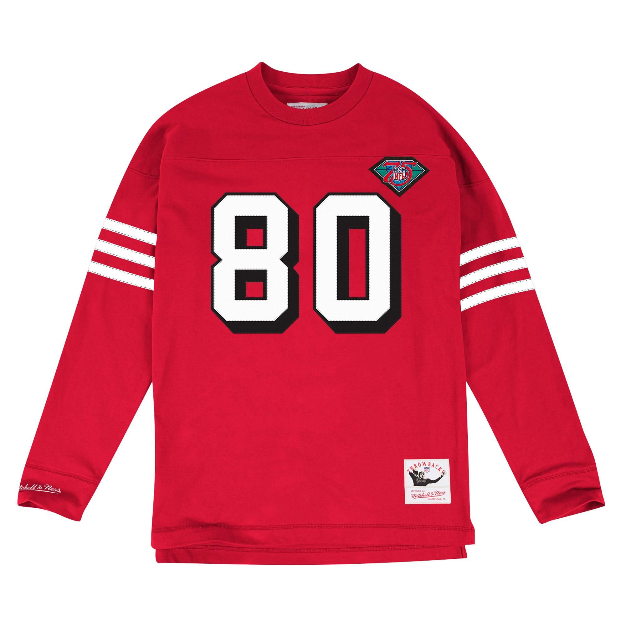 377a1dba9 Mitchell & Ness | Name & Number Long Sleeve San Francisco 49ers ...