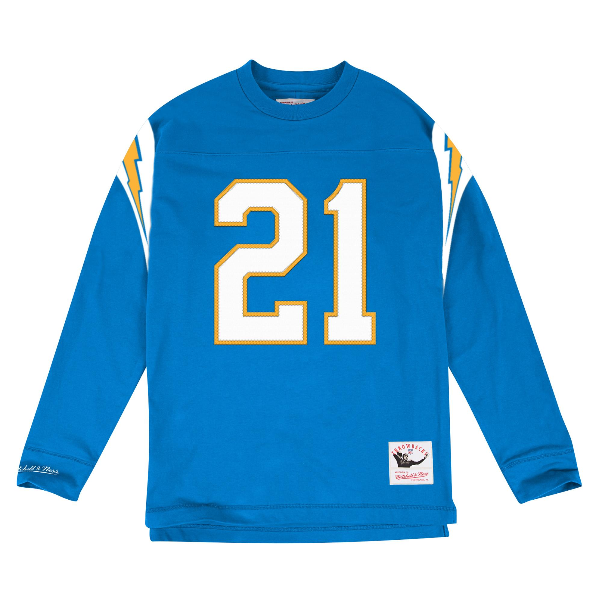 sale retailer 8d6a5 c8336 Mitchell & Ness | Name & Number Long Sleeve San Diego ...