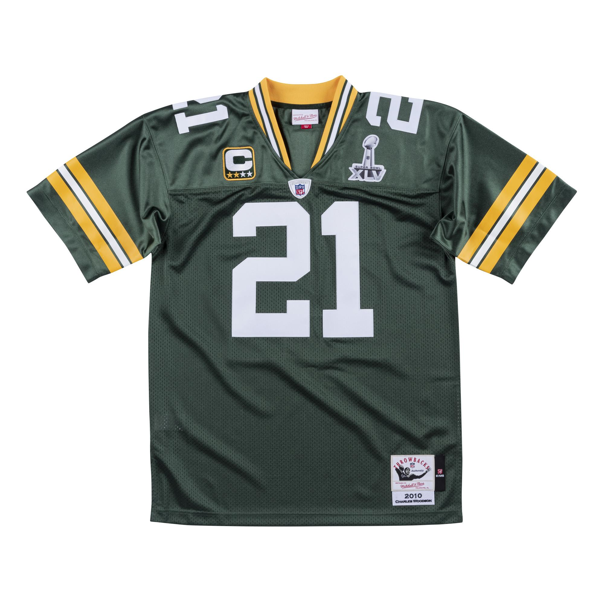 separation shoes a0ce3 6e196 Mitchell & Ness | Green Bay Packers Authentic Jersey Charles ...