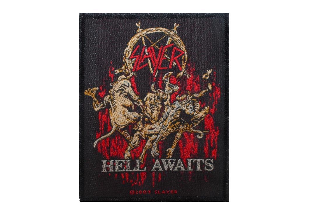 "Slayer Black Eagle Patch 8cm x 10cm 3/"" x 4/"""