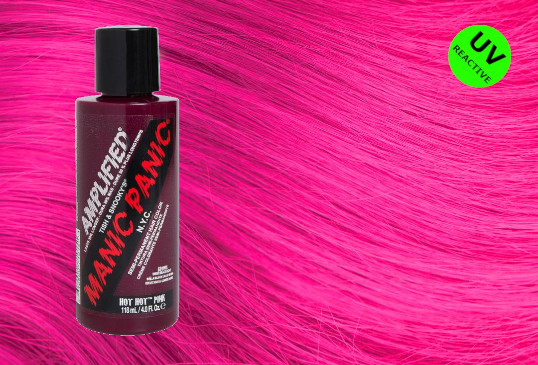Manic Panic Hot Pink Amplified Hair Colour