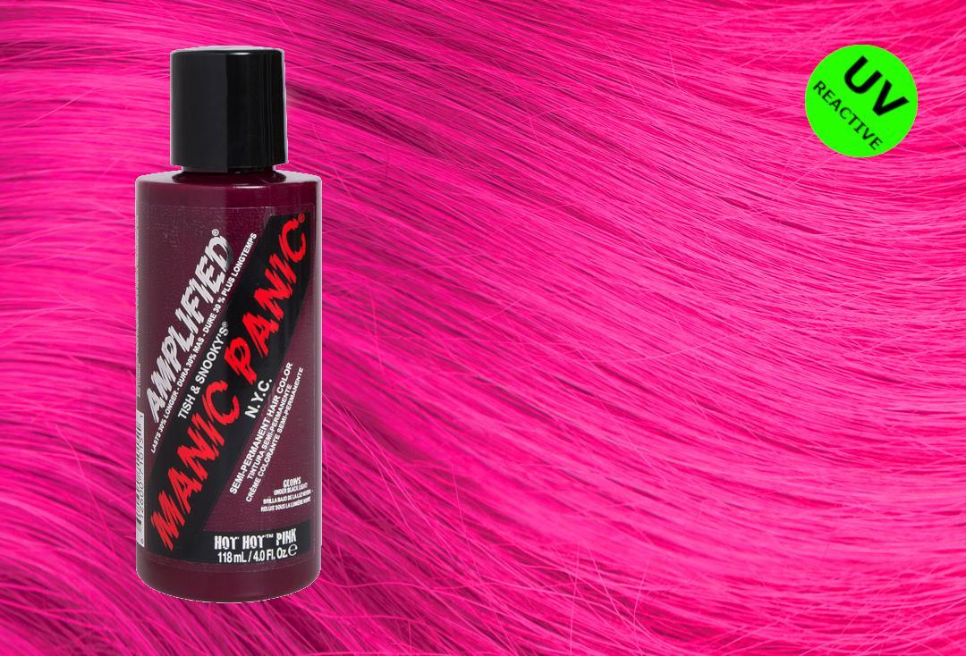 Hot Hot Pink Manic Panic Amplified Cream Hair Colour