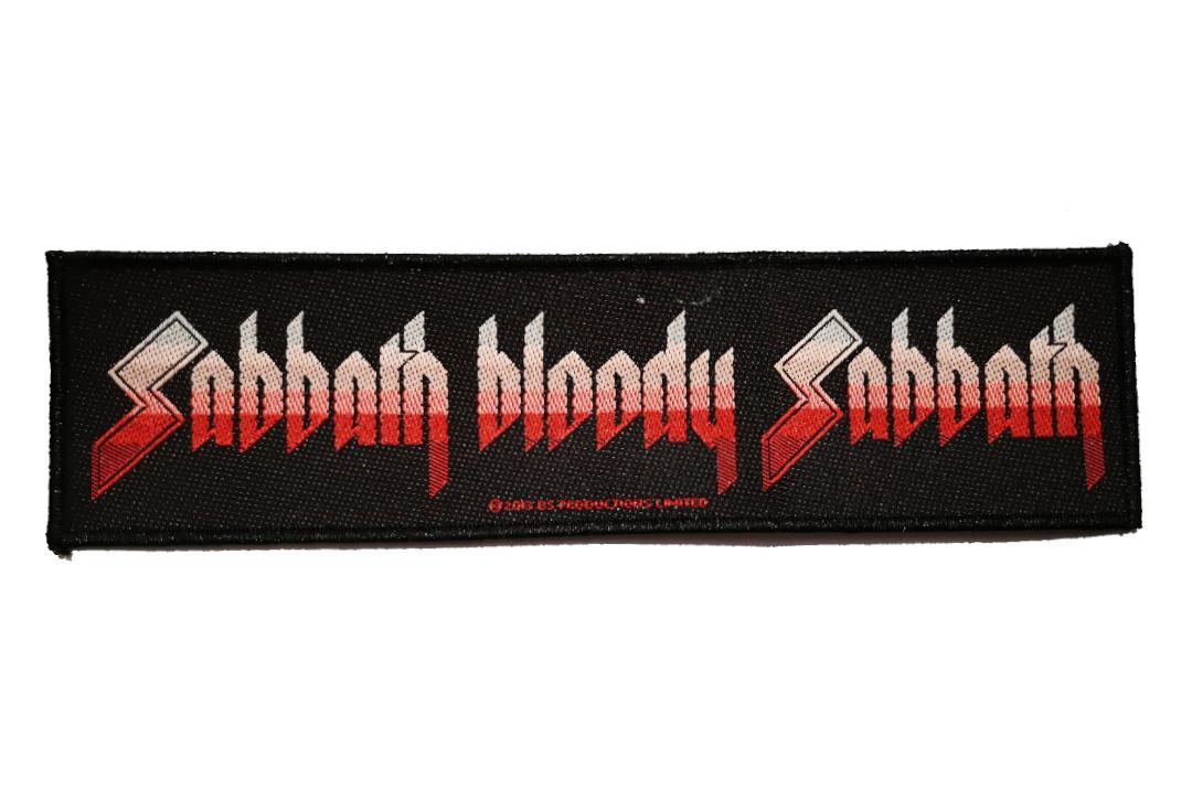 rz Black Sabbath Sabbath Bloody Sabbath sew-on cloth strip patch 195mm x 52mm