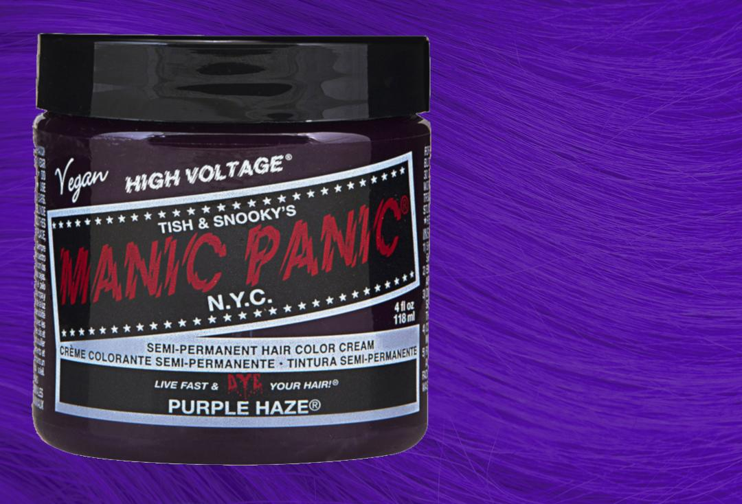 Purple Haze Manic Panic High Voltage Classic Cream Hair Colour