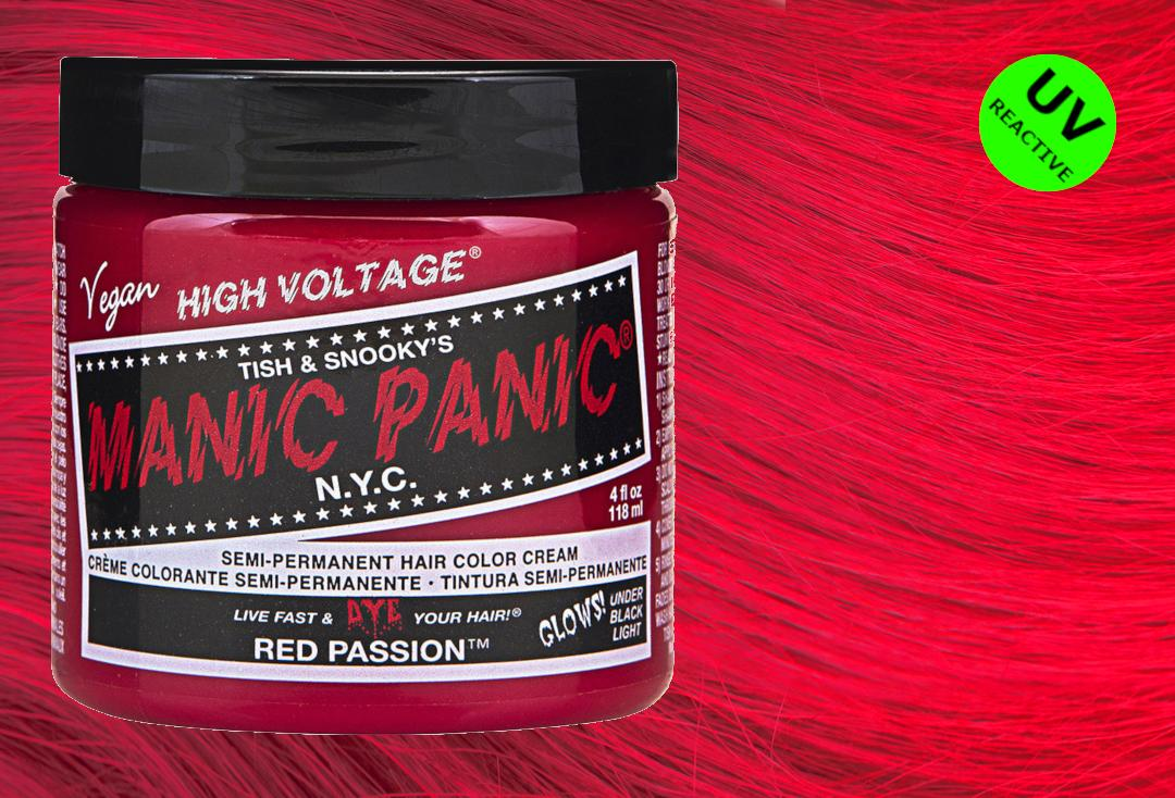 Red Passion Manic Panic High Voltage Classic Cream Hair Colour