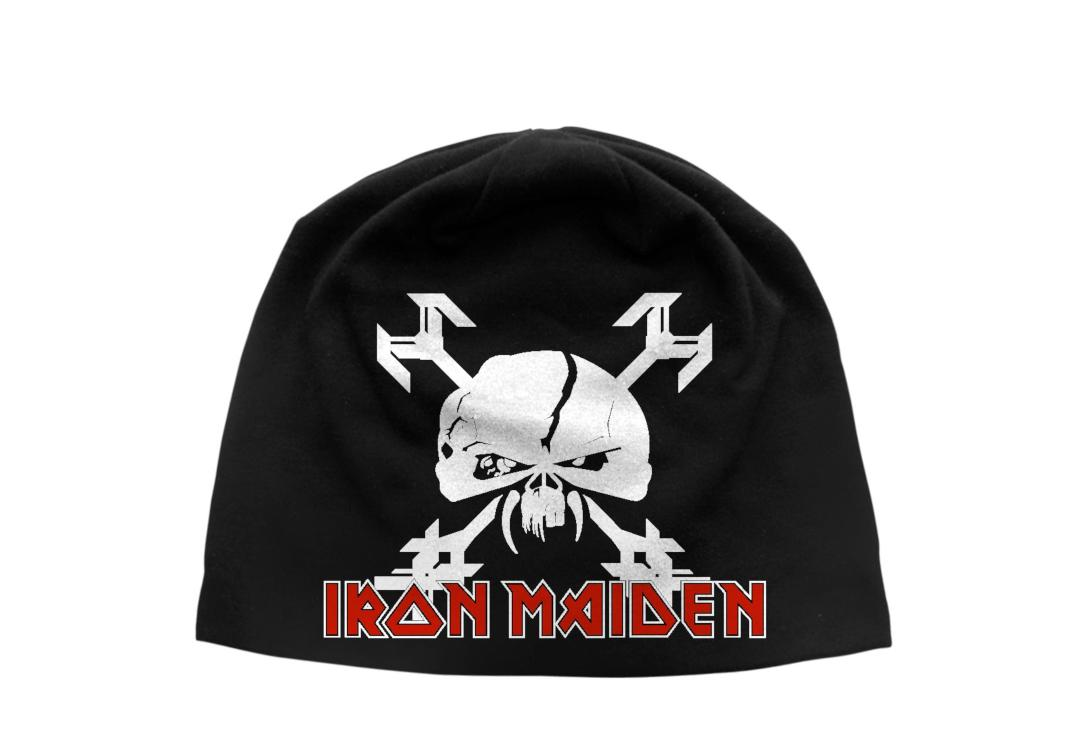 Iron Maiden - Final Frontier Discharge Printed Jersey Beanie fdc0093e2bbb