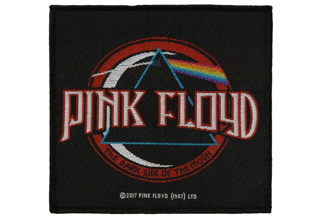 7061cf4b8b544 Official Band Merch | Pink Floyd - The Dark Side Of The Moon Aged Woven  Patch