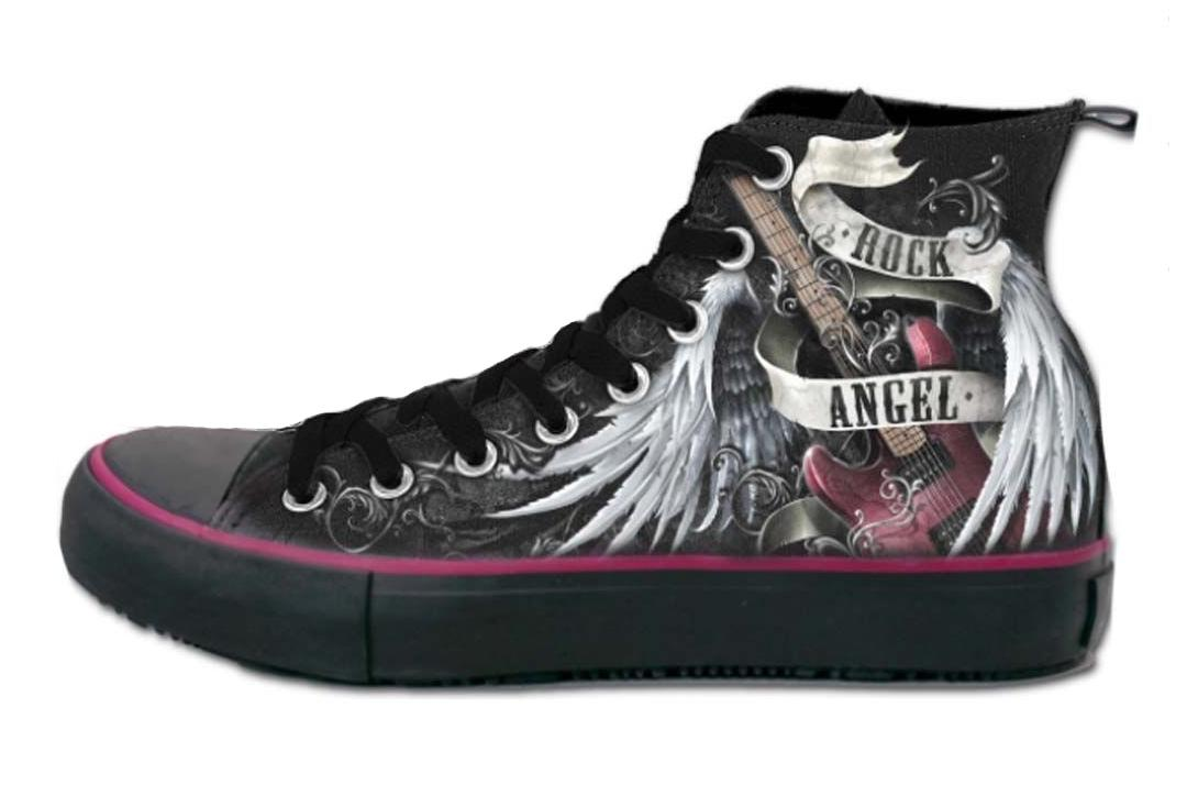 Spiral Direct | Rock Angel Women's Lace Up High Top Sneakers