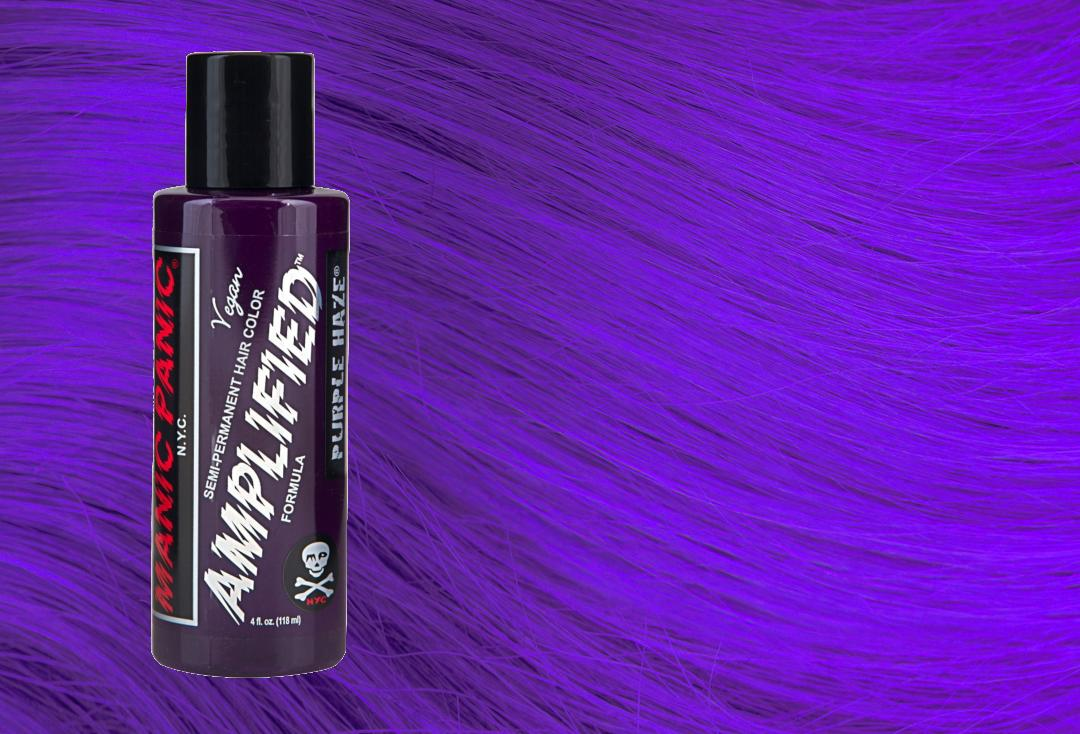 Purple Haze Manic Panic Amplified Hair Colour