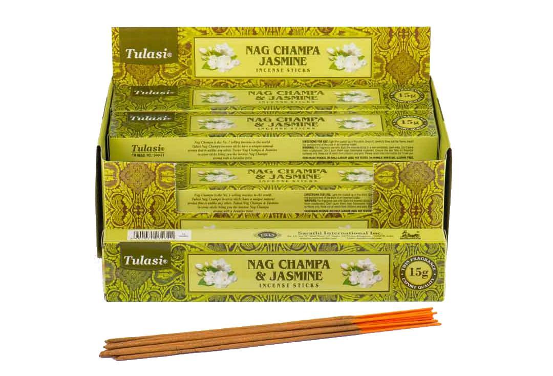 Jasmine Nag Champa Tulasi Incense Sticks