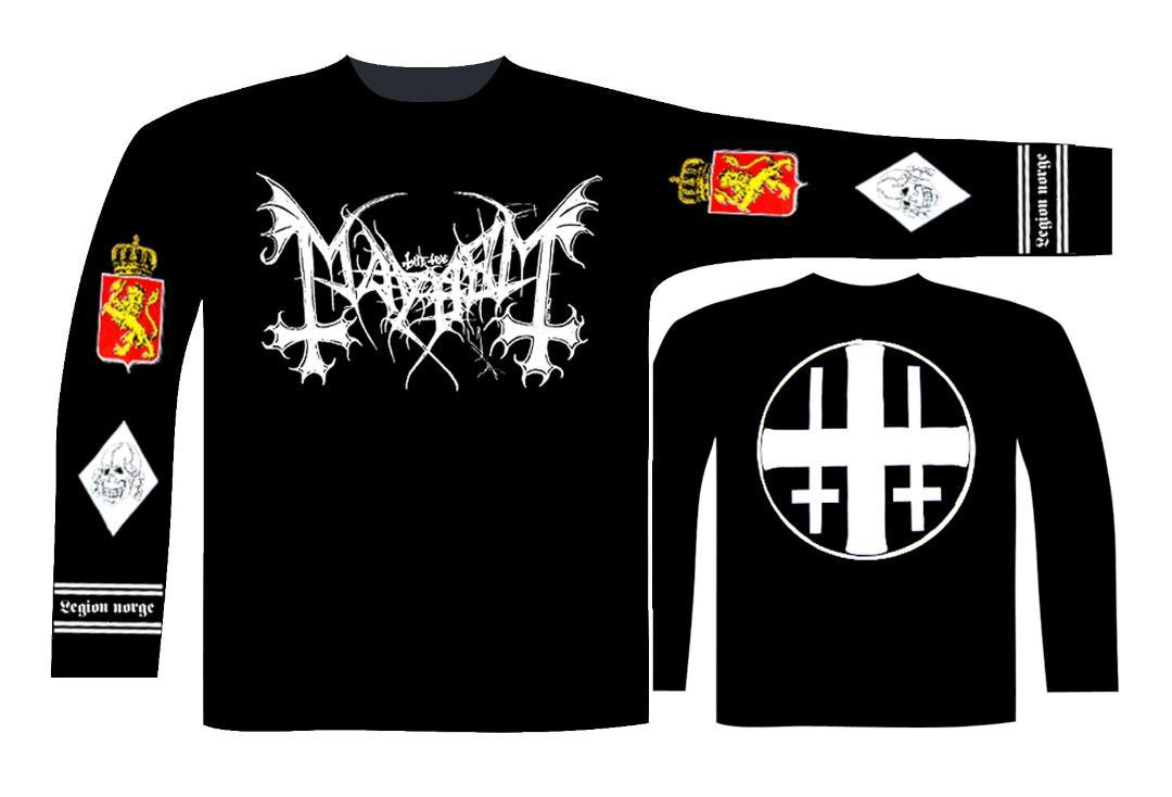 Mayhem /'Legion Norge/' T-Shirt Noir