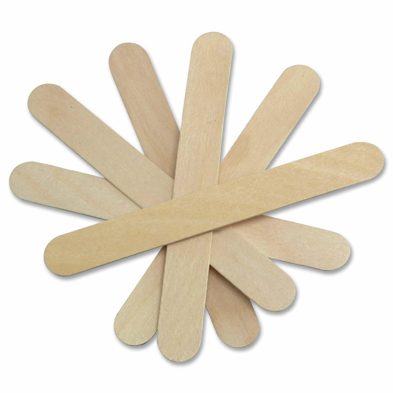 100 High Quality Wooden Tongue Depressor, Waxing Spatula