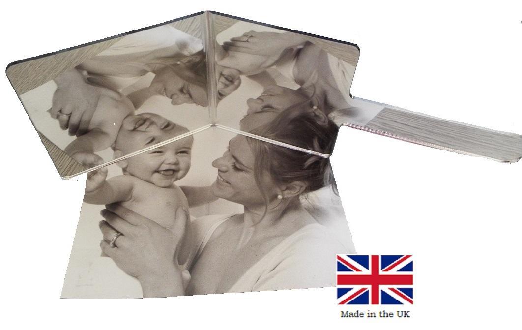 Angled Medical Examination Mirror